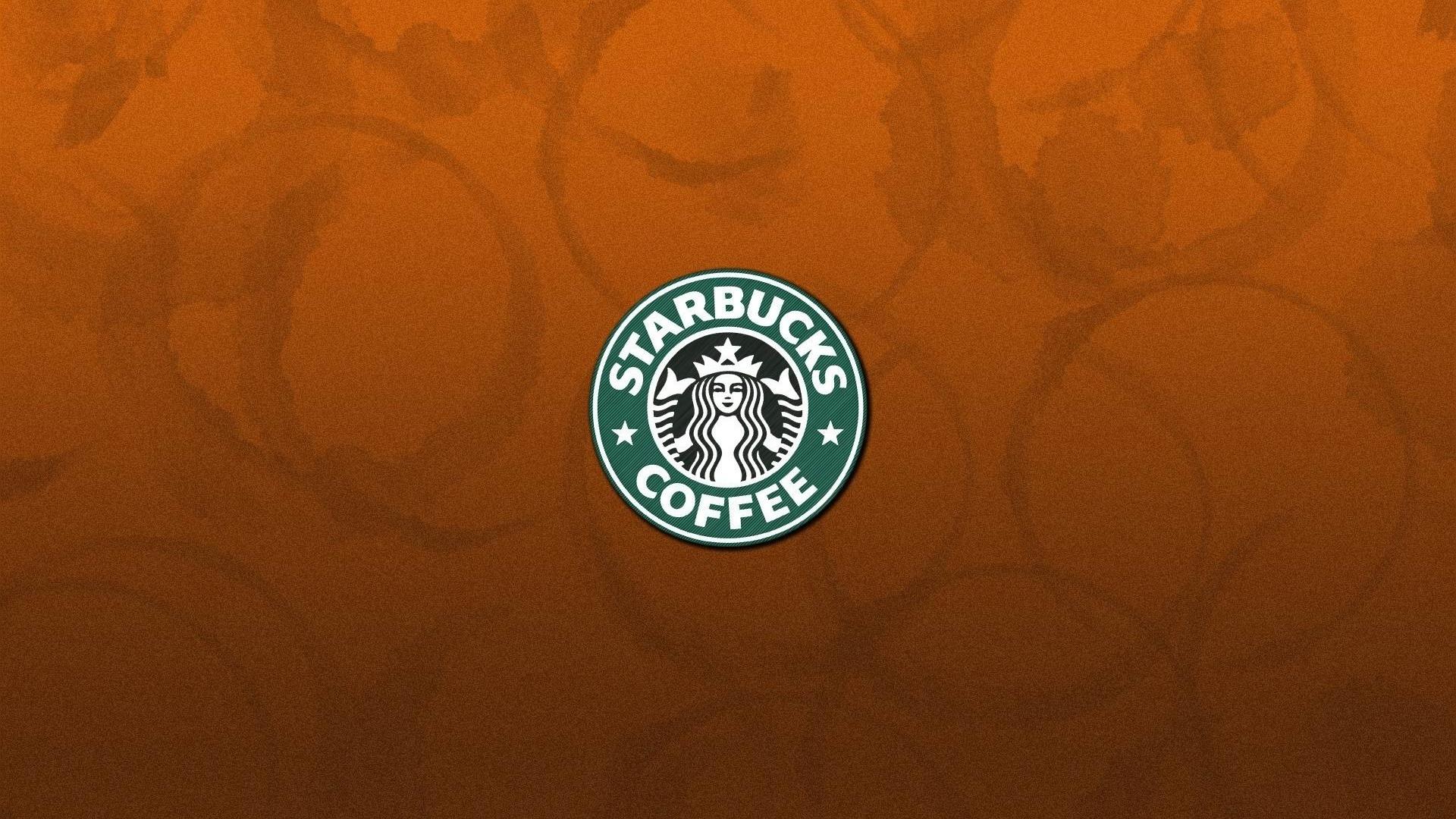 スターバックスコーヒー飲料のロゴ ブランド広告のhd壁紙プレビュー