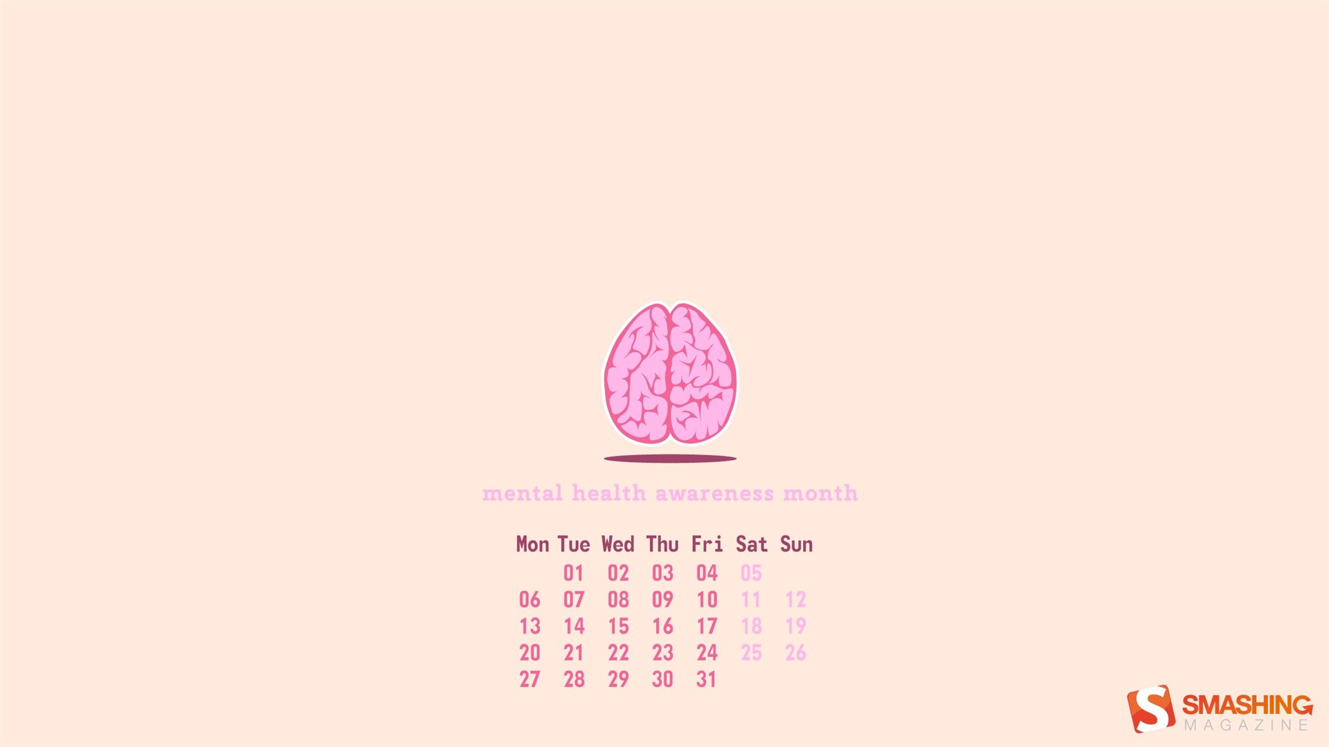 Health Awareness 2013 Calendar | New Calendar Template Site
