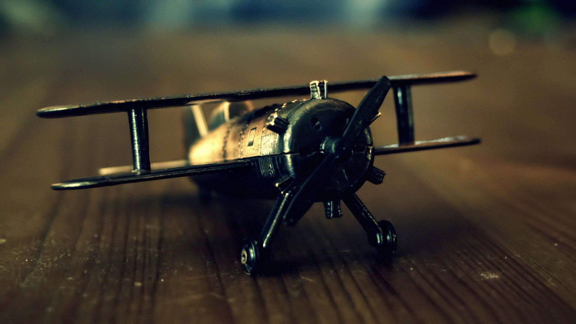 Photography Old Airplane Toy Life HD Wallpaper