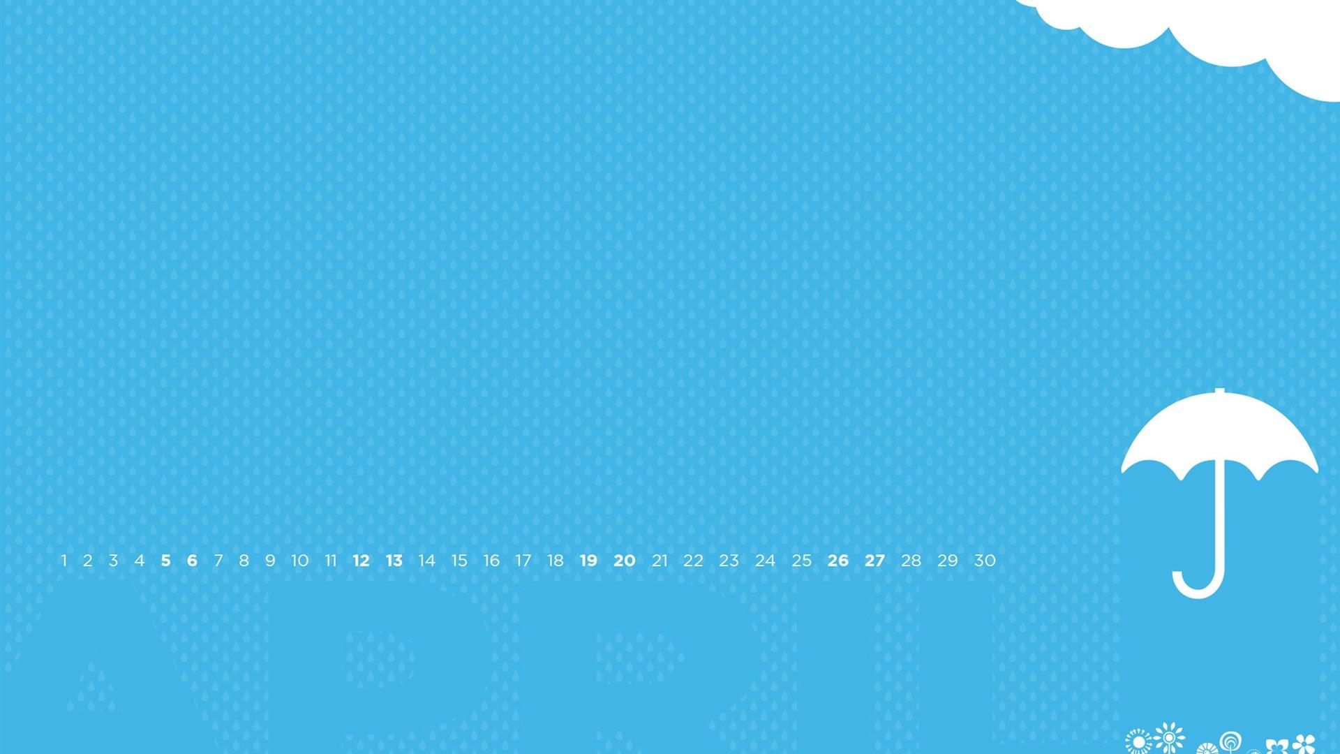 April Showers April 2014 Calendar Wallpaper Preview 10wallpaper Com