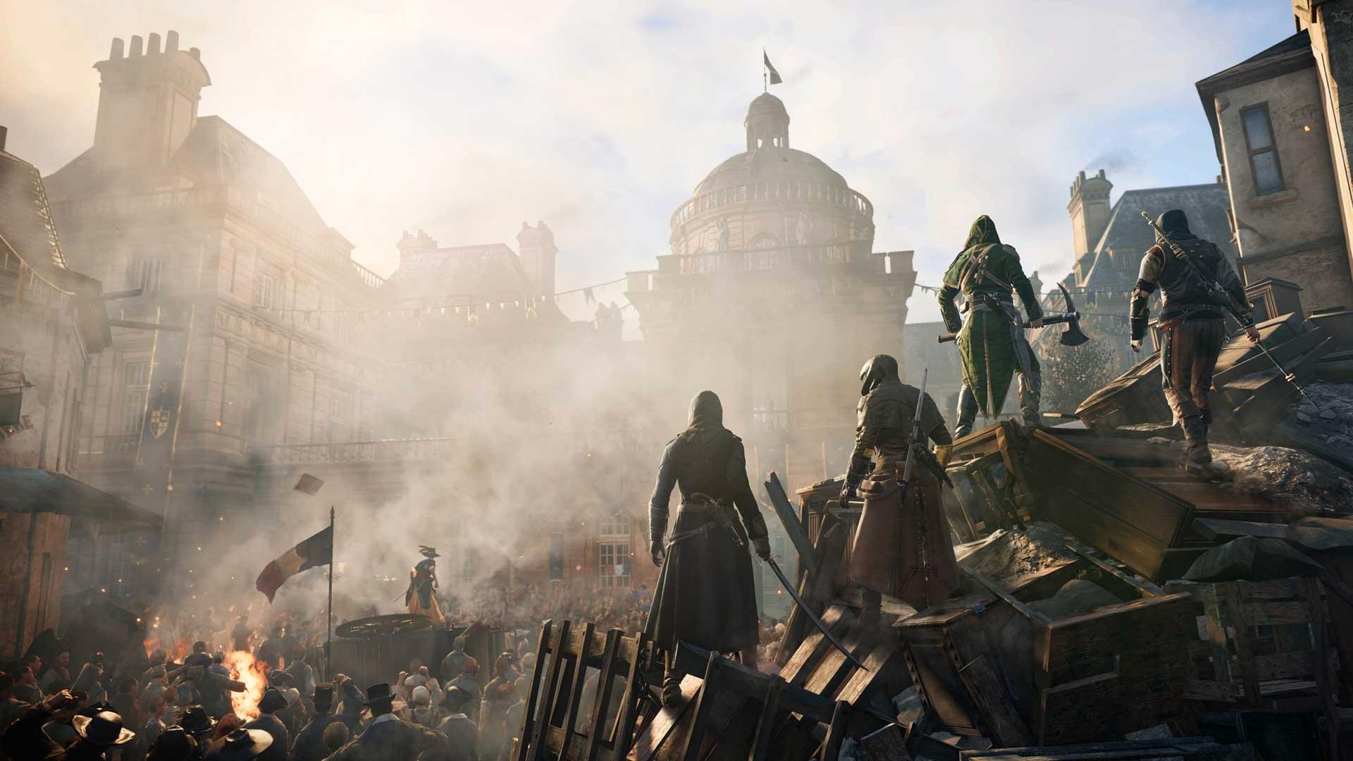 Assassins Creed Unity Hd Game Desktop Wallpaper 12 Preview 10wallpaper Com