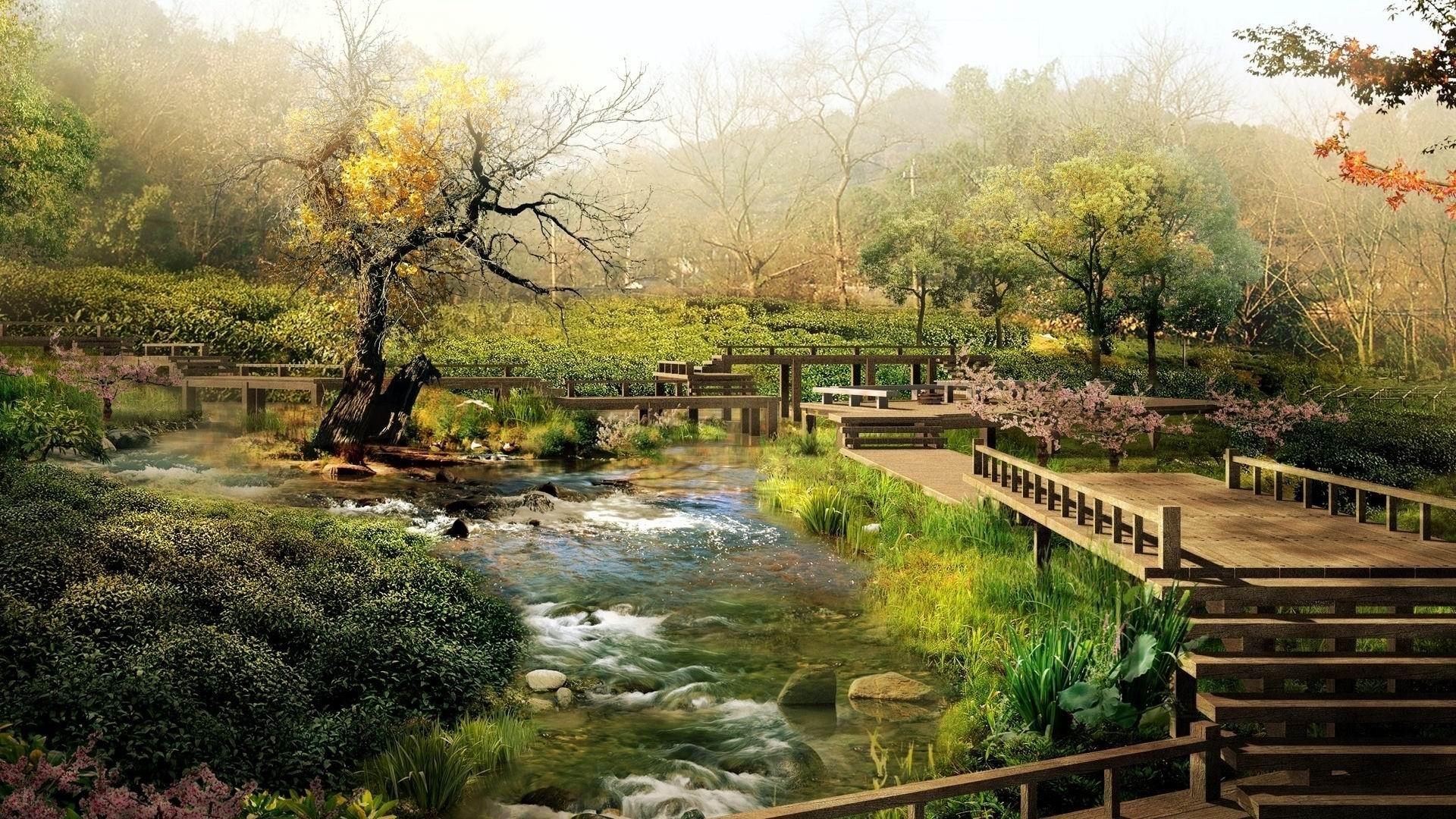 Japón Landscape Nature Photo Wallpaper Avance 10wallpapercom