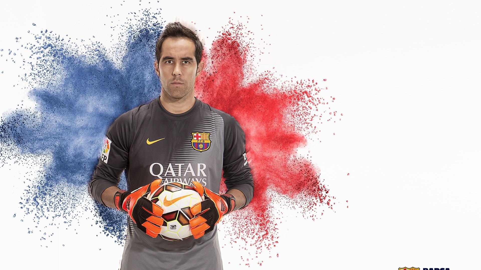 Claudio Bravo-FC Barcelona HD Wallpaper Preview