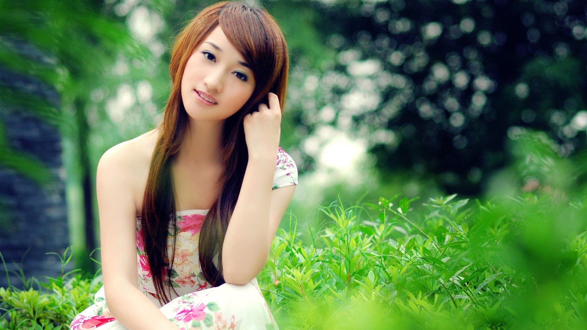Asian Fashion Beauty Model Photo HD Wallpapers 04 Preview