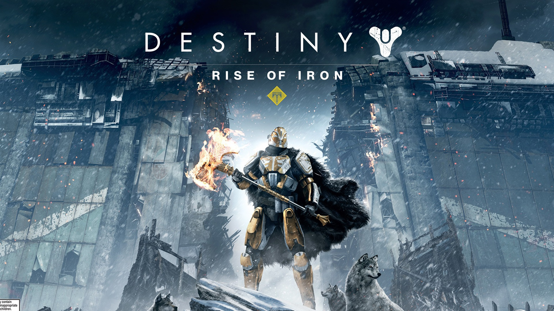 Destiny Rise Of Iron Wallpaper: Destiny Rise Of Iron-2016 Game Posters HD Wallpaper