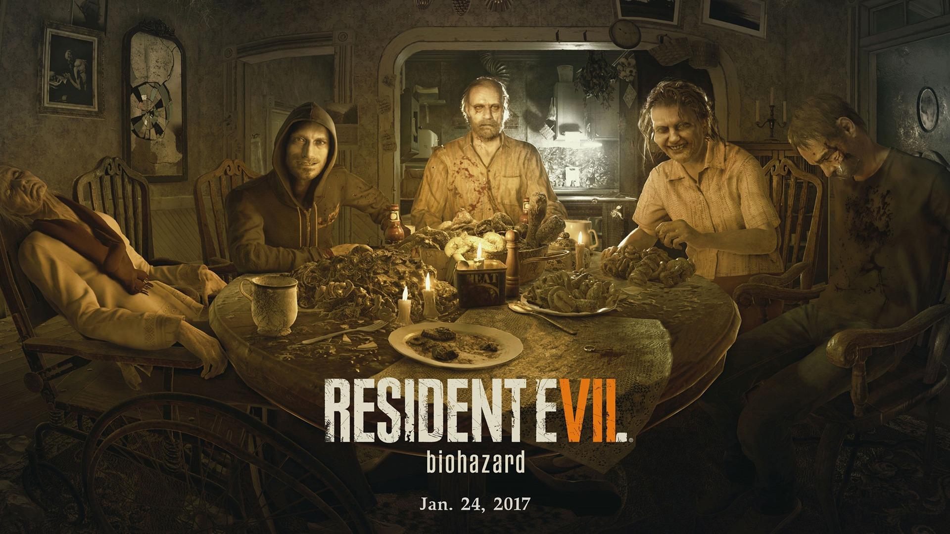 Resident evil 7 biohazard 2017-2016 Game Poster HD ...