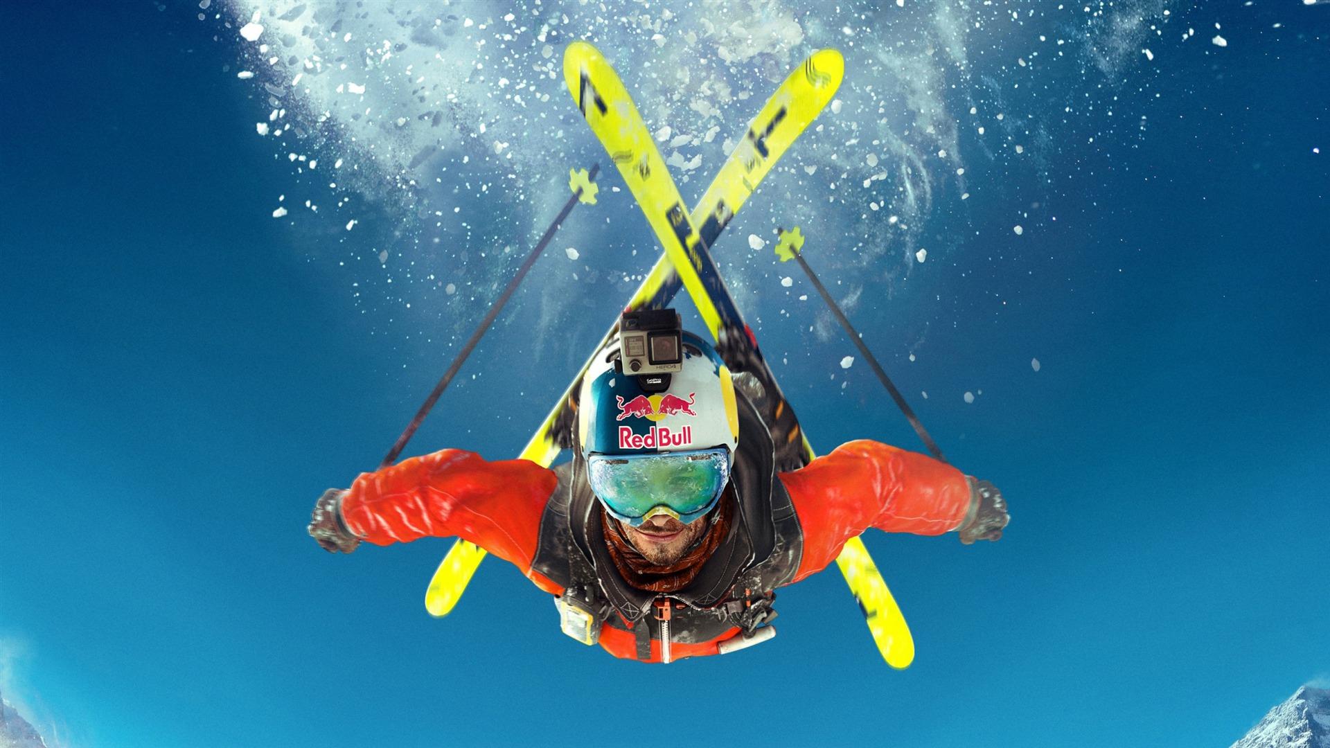 Skiing Sport Wallpaper Iphone: 急なスキー極端なスポーツ-スポーツポスター壁紙プレビュー