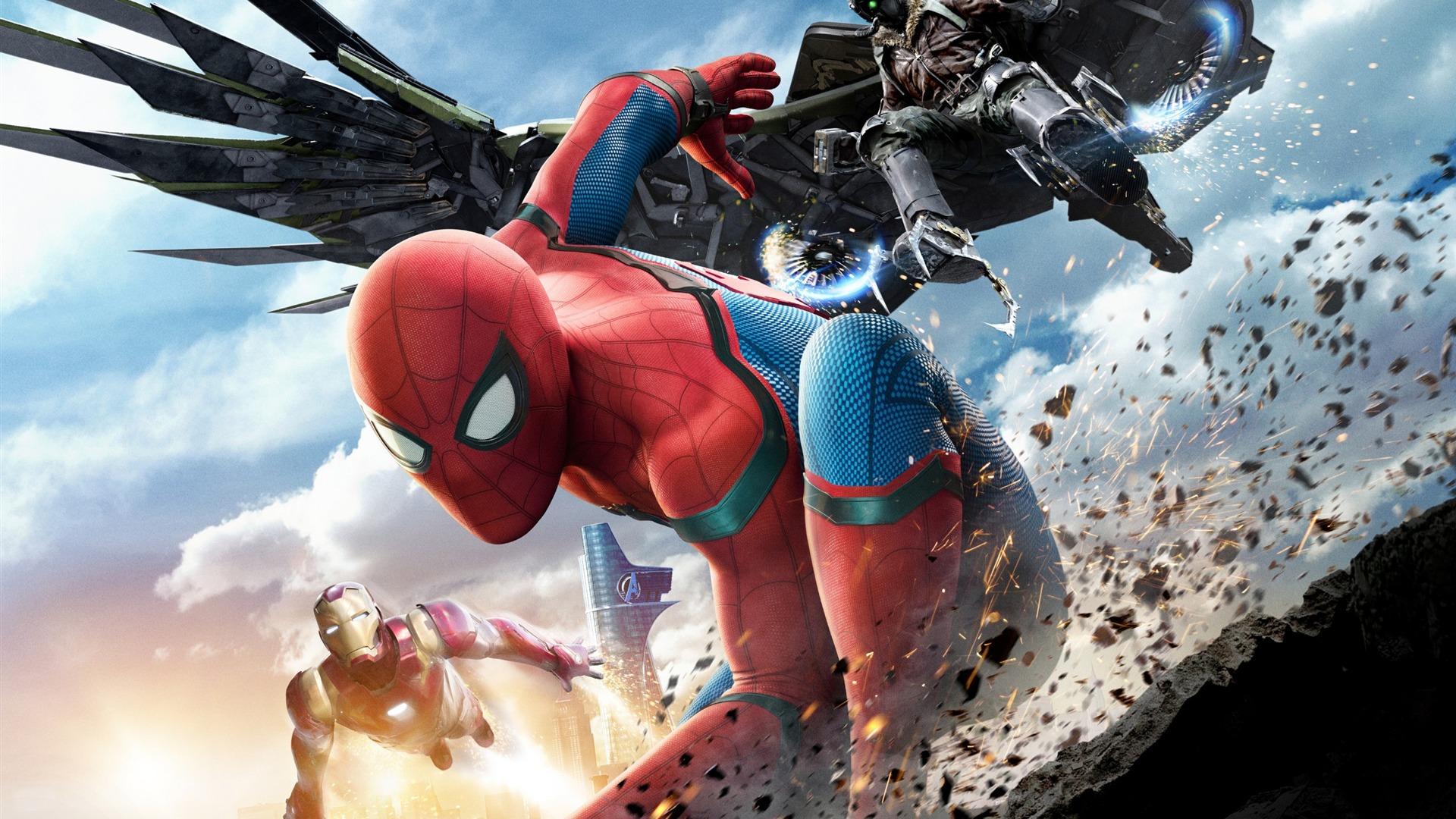 2017 Spider Man Homecoming Hd Movie Wallpaper 06 Avance