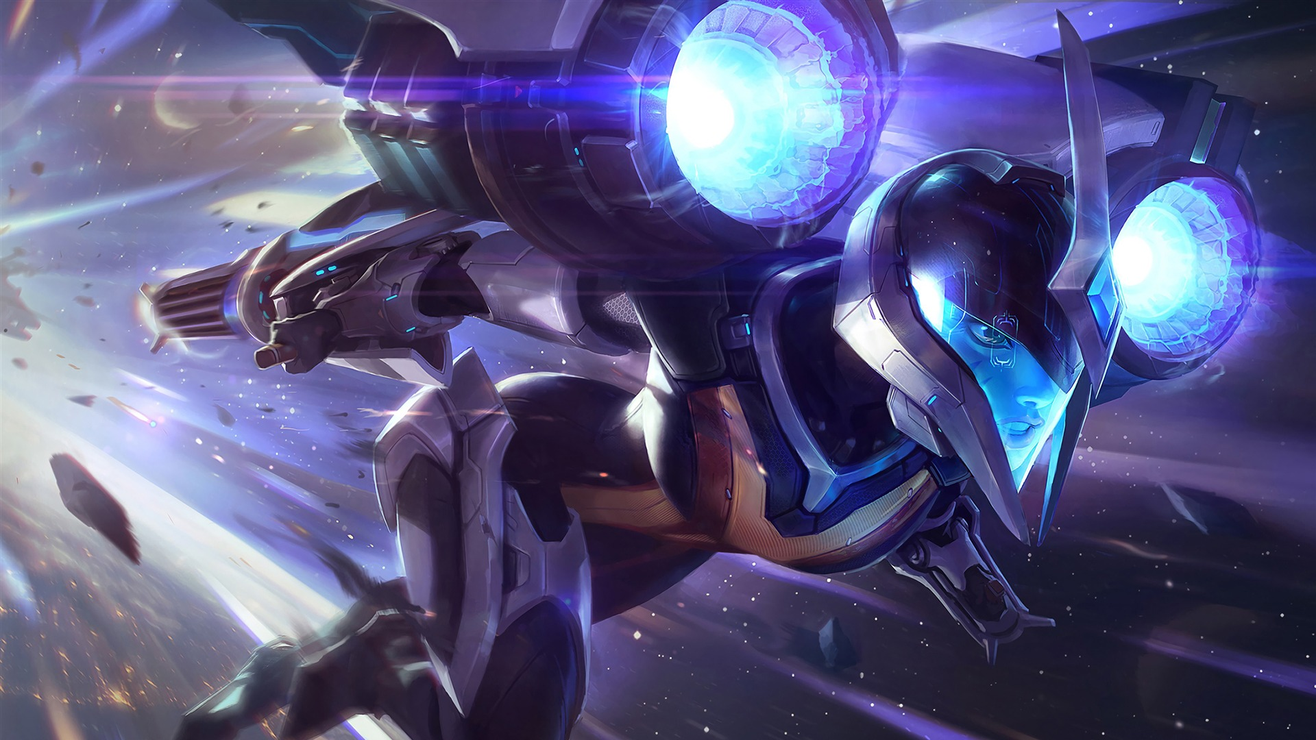 League Of Legends Kaisa 2018 Hd Game Preview 10wallpaper Com