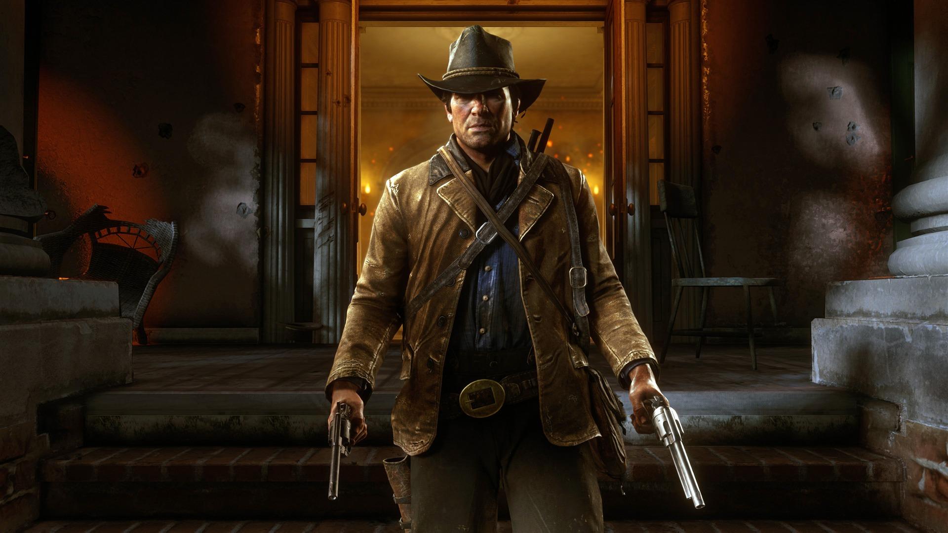 2018 Red Dead Redemption 2 Hd Juego Avance 10wallpapercom