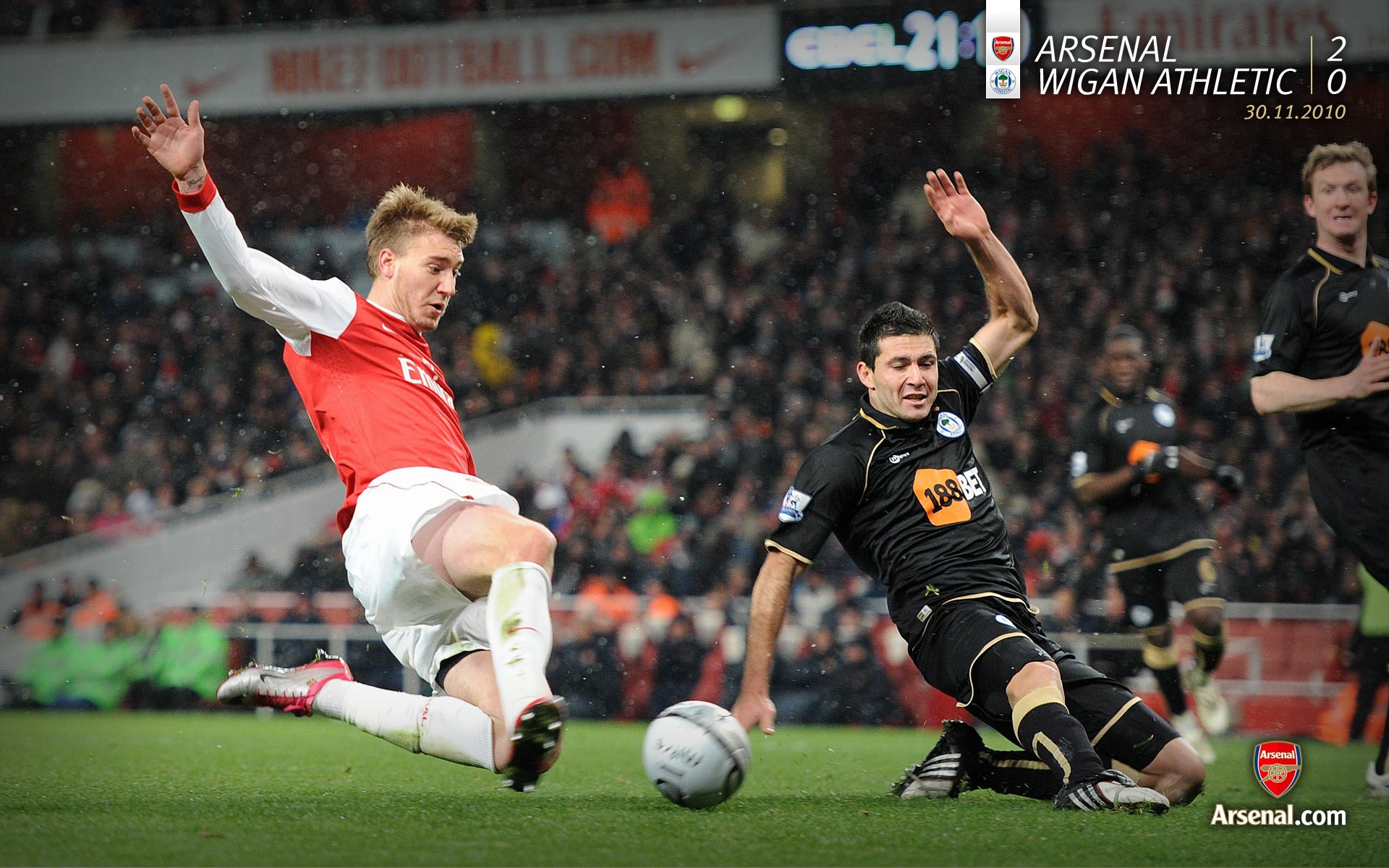 Arsenal 2-0 Wigan Athletic Wallpapers Preview