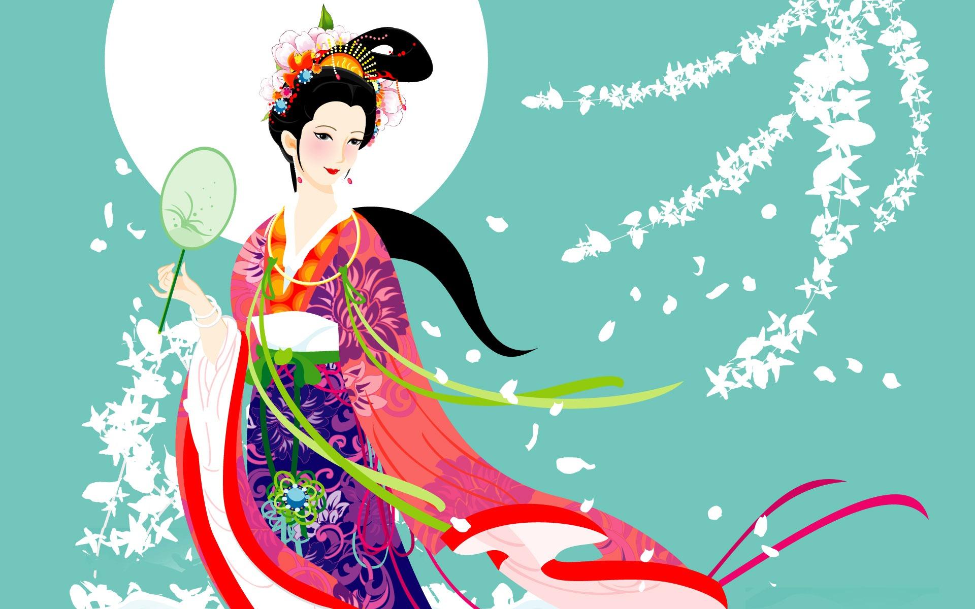 Корейская открытка