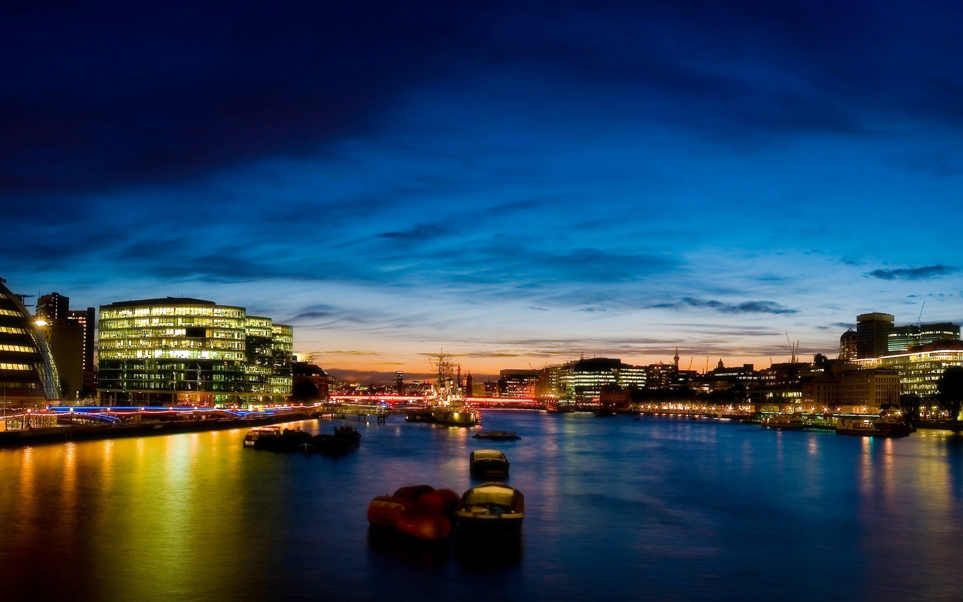 London Night Photography Desktop Wallpaper Preview 10wallpaper Com
