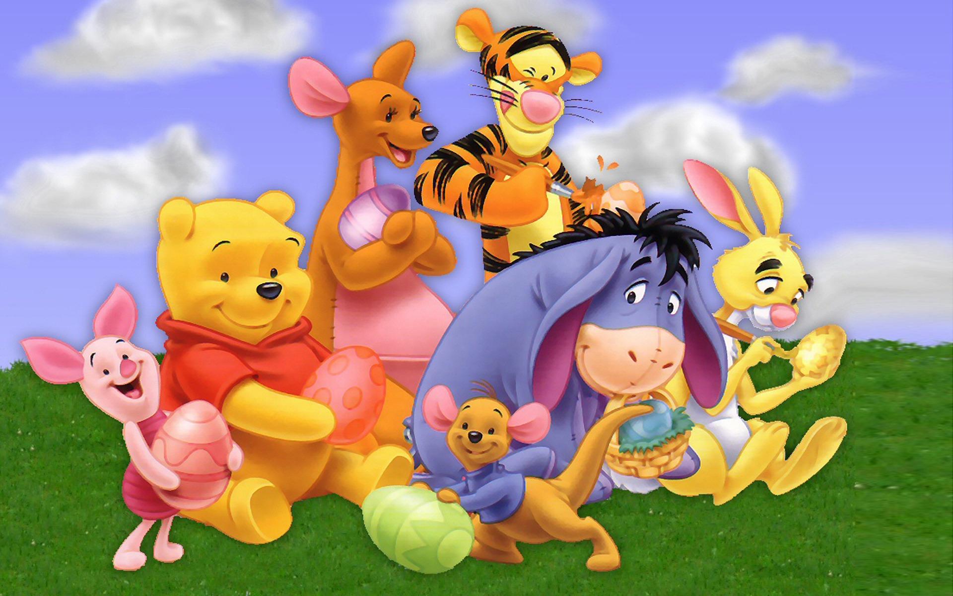 Winnie the pooh cartoon character hd desktop wallpaper - Cartoon character wallpaper ...