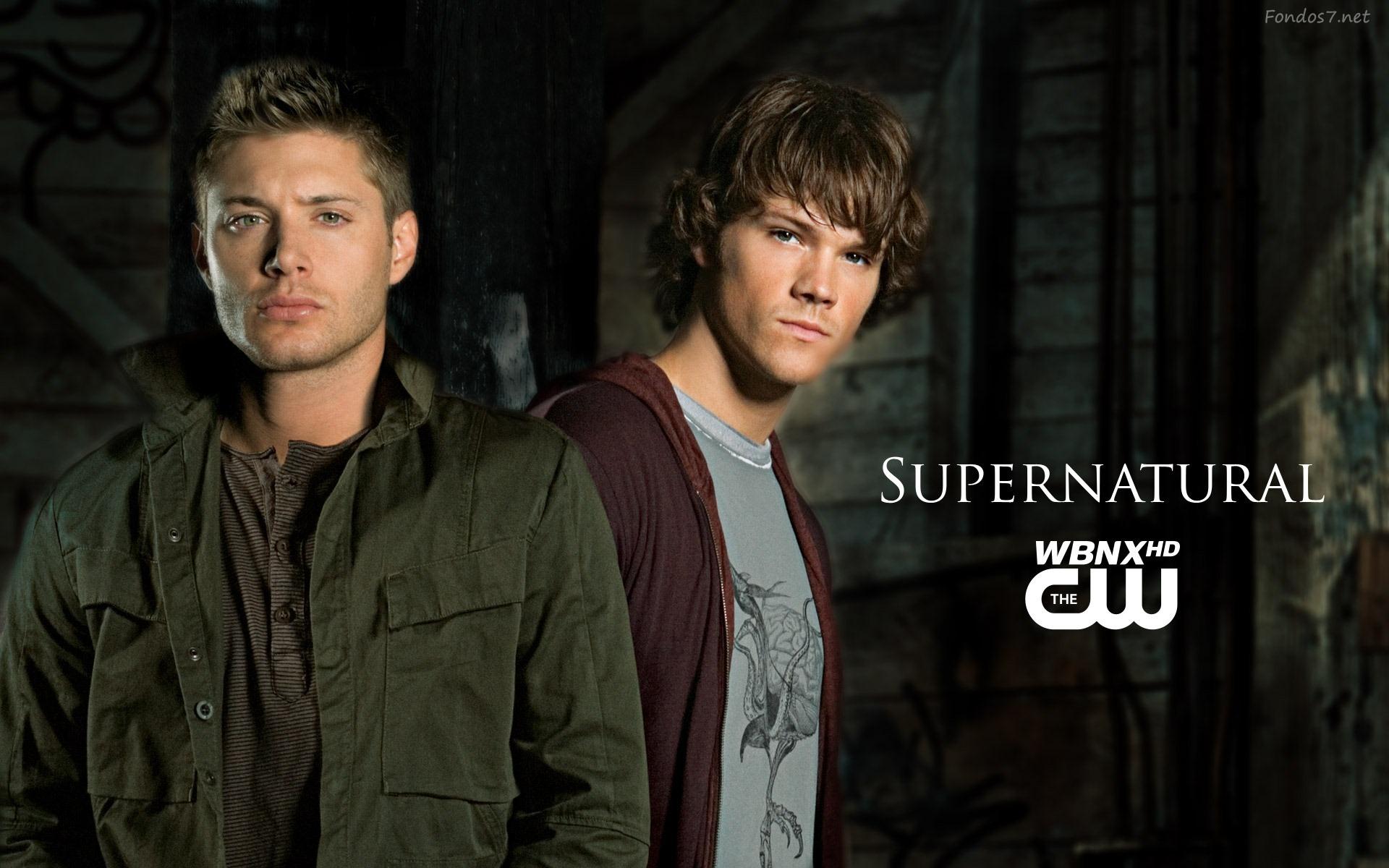Dean Y Sam Supernatural Hd Desktop Picture Avance