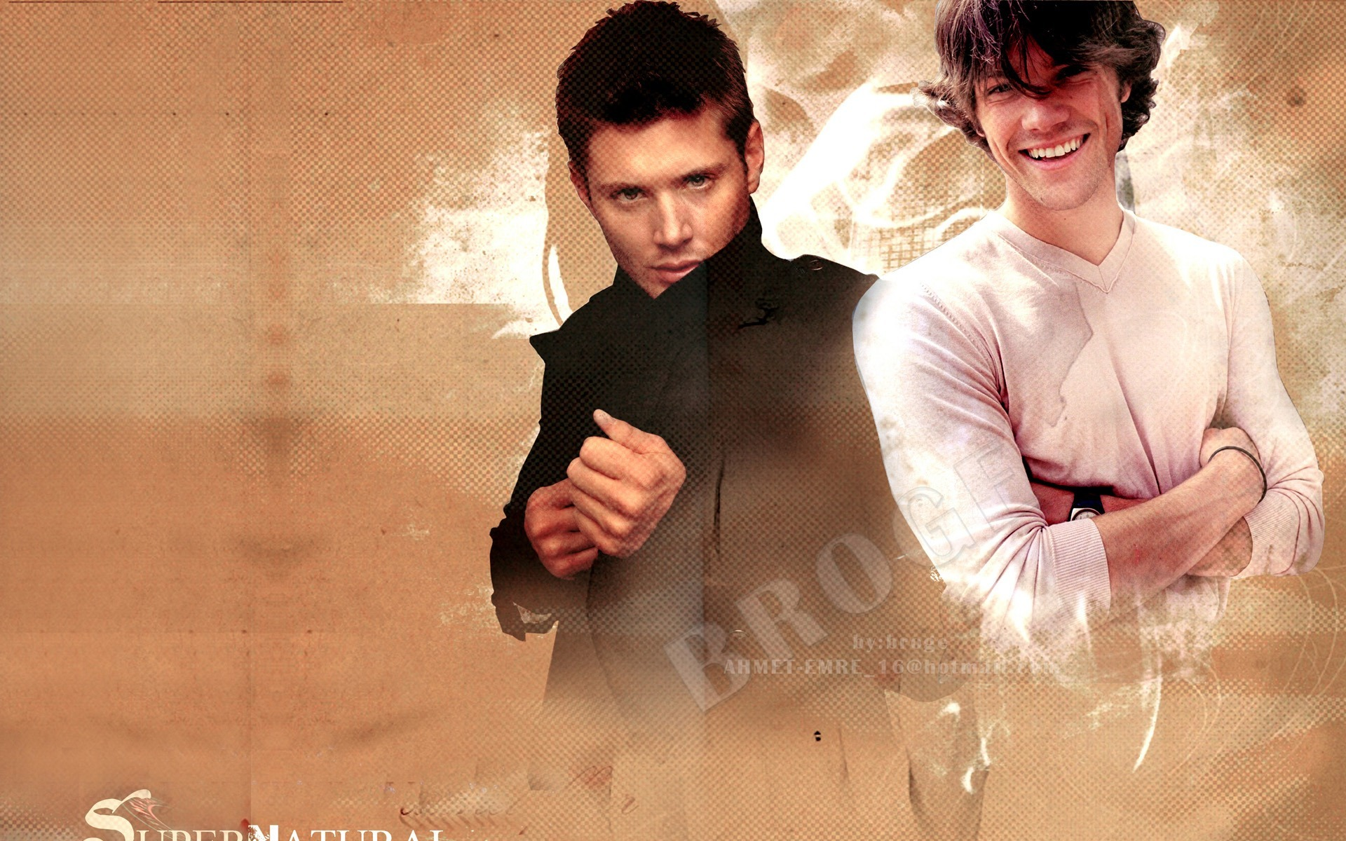 Dean And Sam Winchester Supernatural Hd Wallpaper Preview