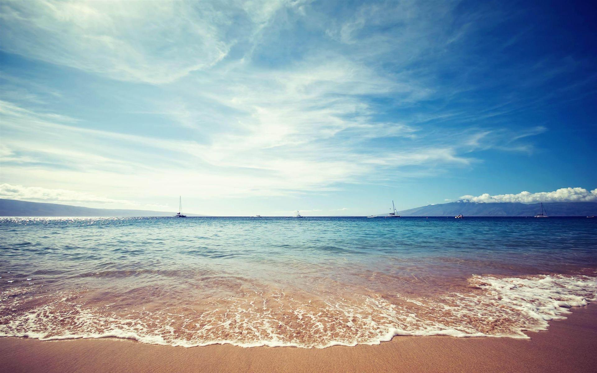 Sand Lake Auto >> Ocean Horizon-natural landscape desktop Wallpapers Preview ...