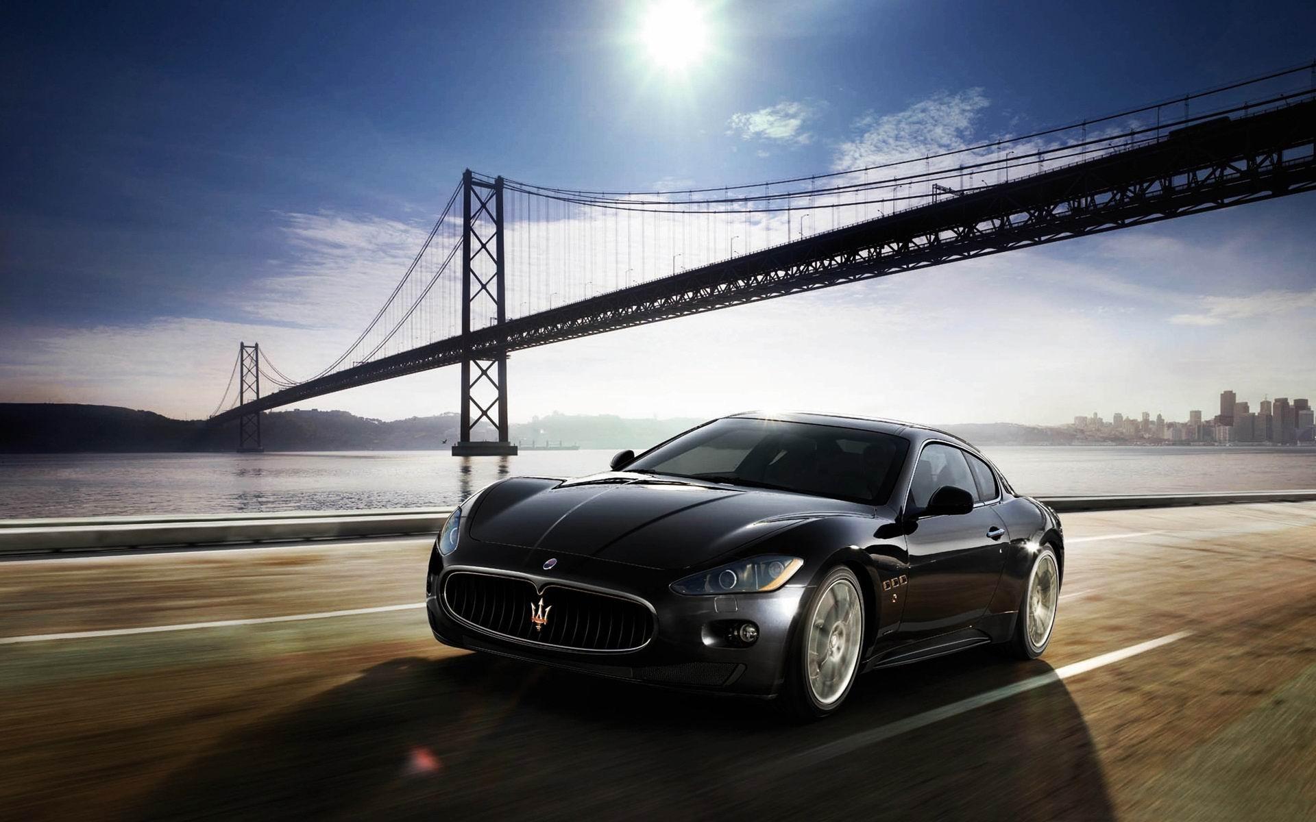 Maserati Granturismo 2012 Coche De Lujo Fondo De Pantalla Hd