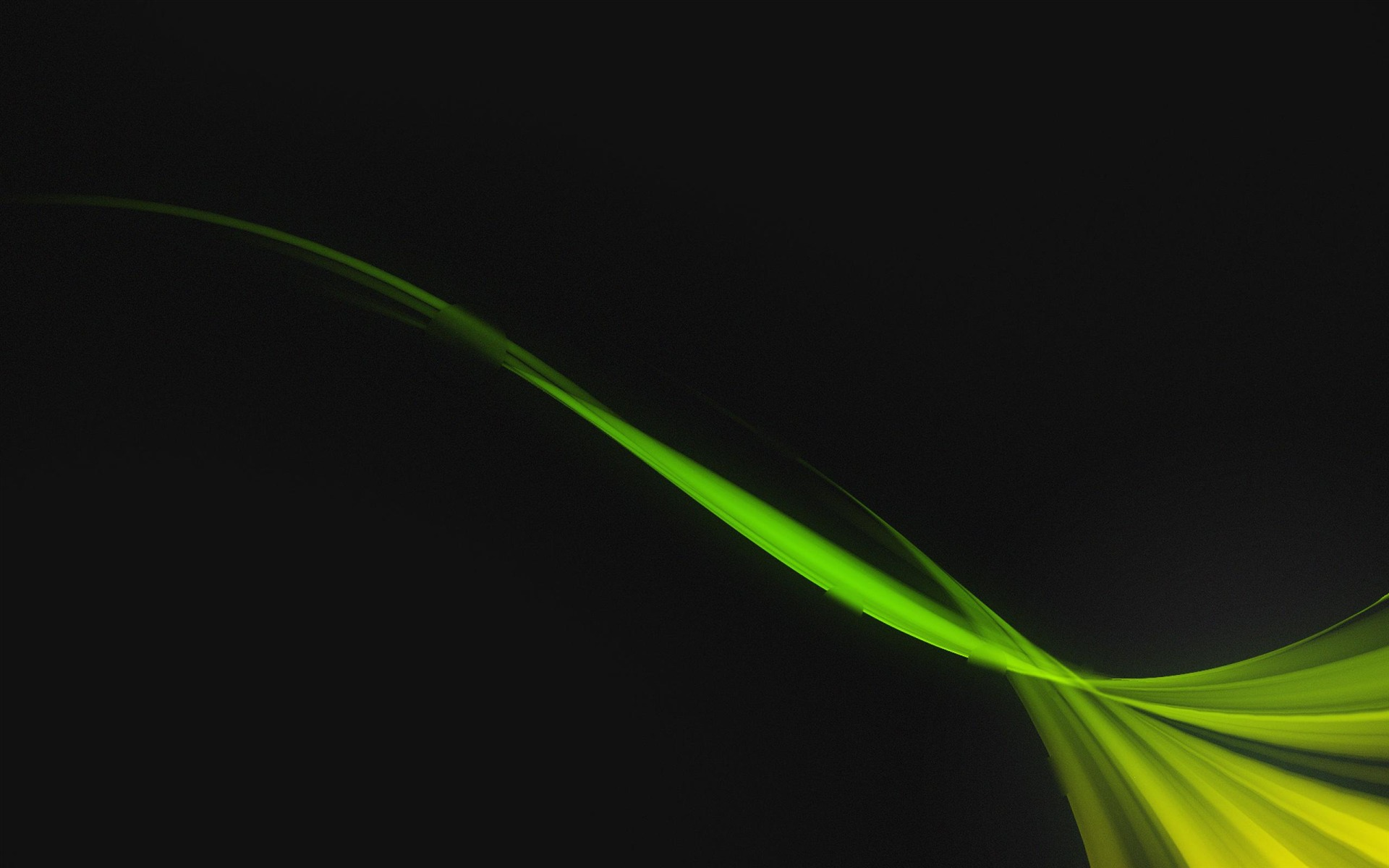 Green Black Wave-Abstract art design wallpaper-1920x1200 ...