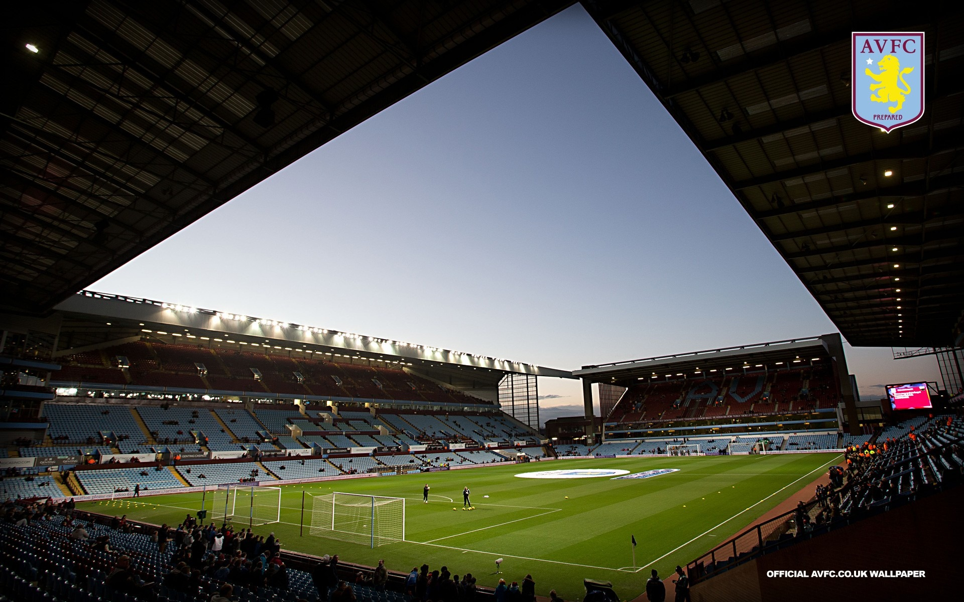 Calm At Villa Park Before The Storm-Aston Villa 2013 HD