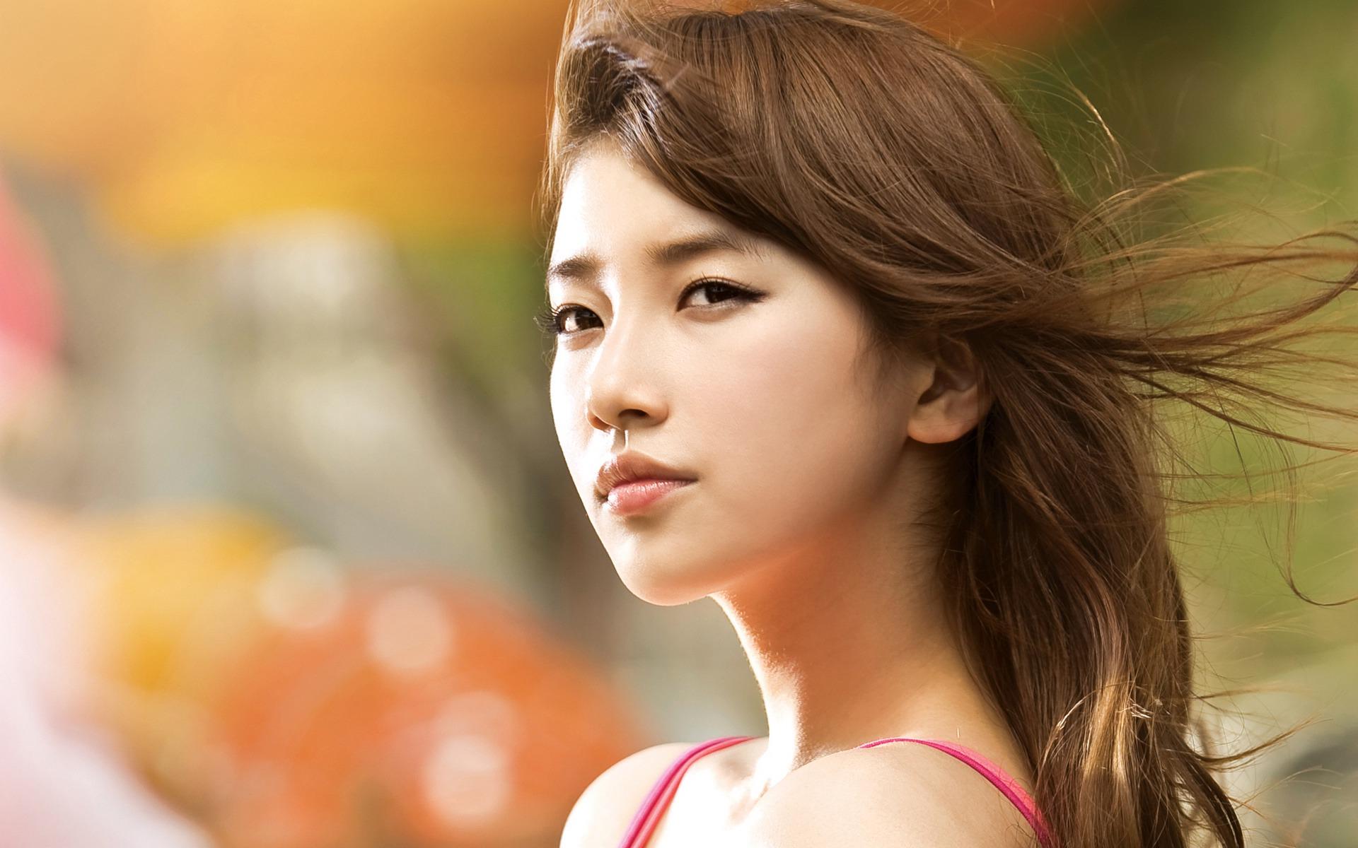 Suzy Korean girls photo HD wallpaper 02 Preview