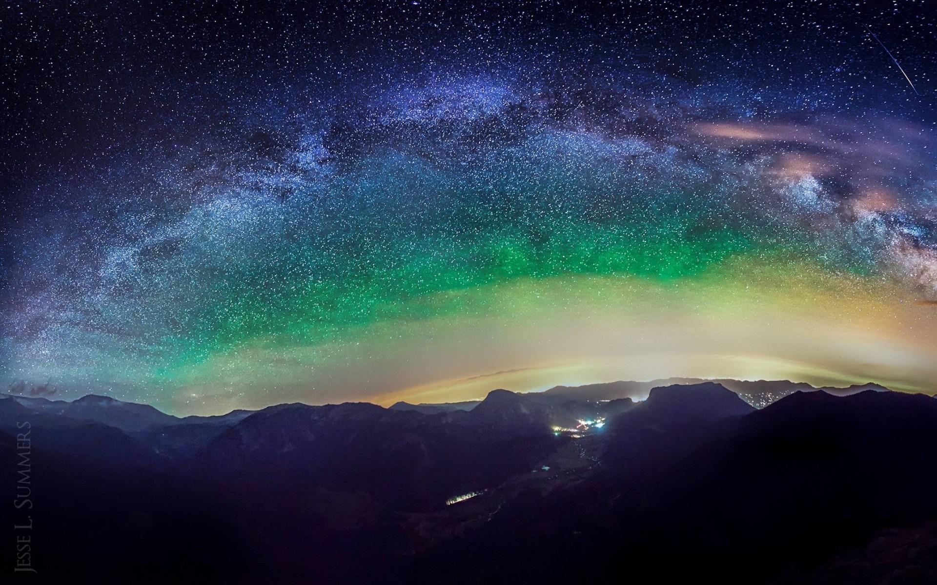 Amazing Milky Way Wallpapers: Amazing Milky Way-design HD Wallpaper Preview