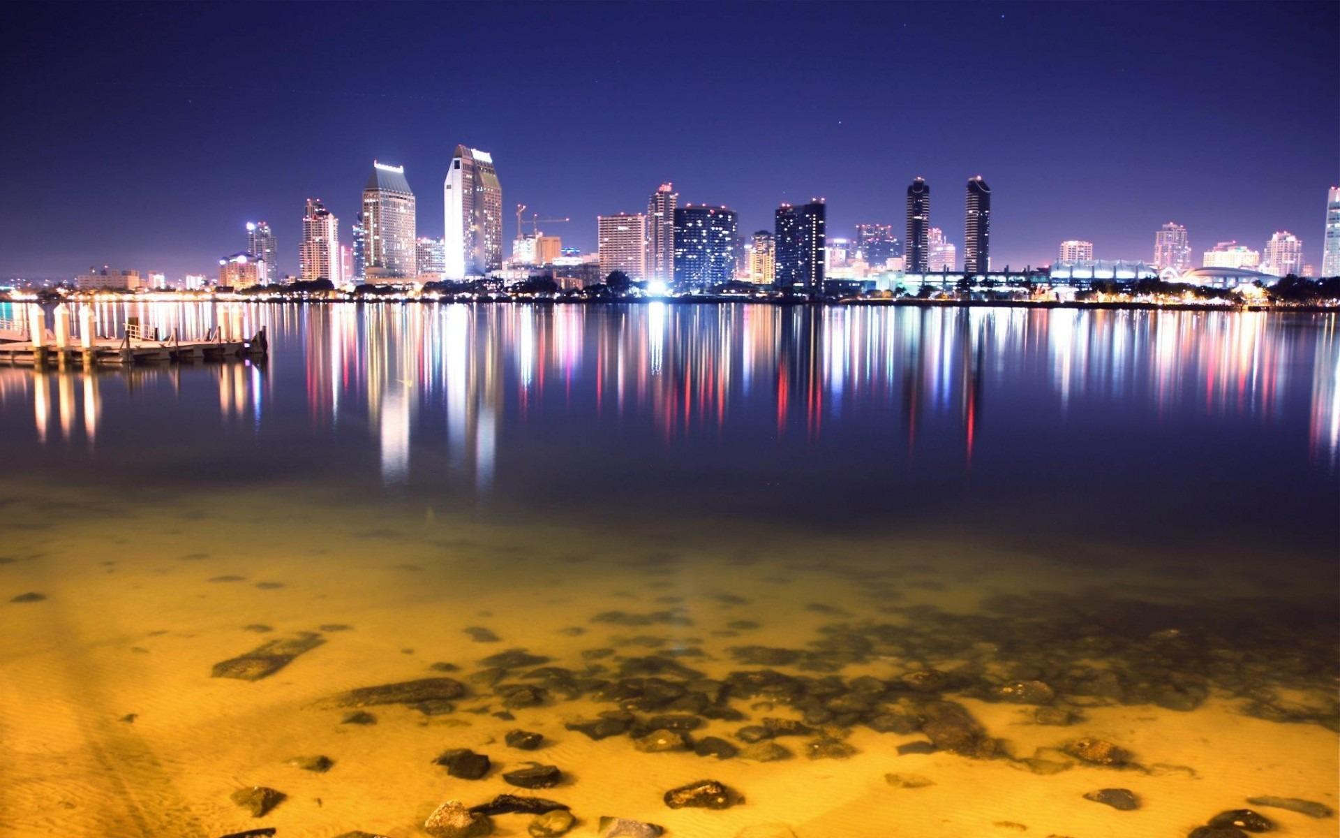 San Diego Skyline Cities Hd Wallpaper Preview 10wallpaper Com