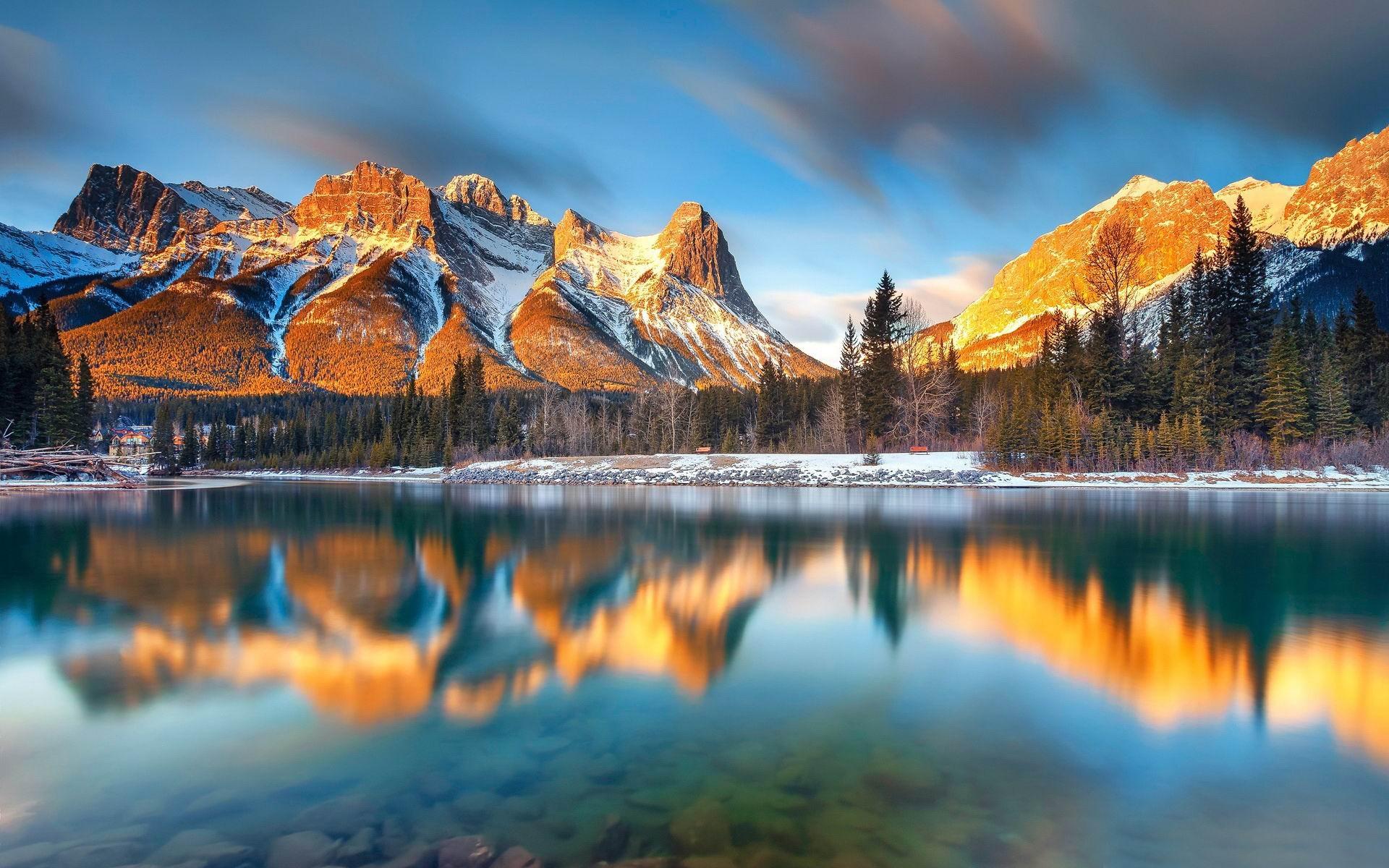 Alberta canada belle nature hd fond d 39 cran 1920x1200 for Belle photo de fond ecran