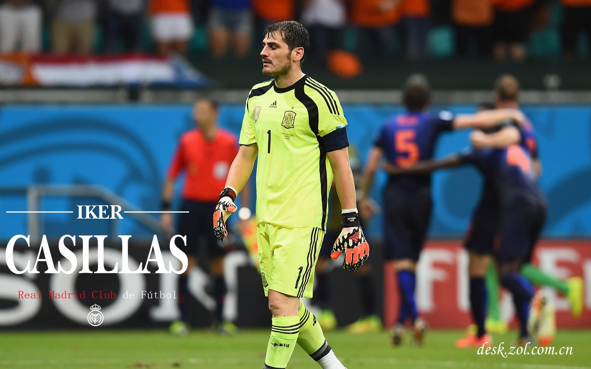 Iker Casillas HD Wallpaper 08 Real Madrid Star Original Resolution 1920x1200