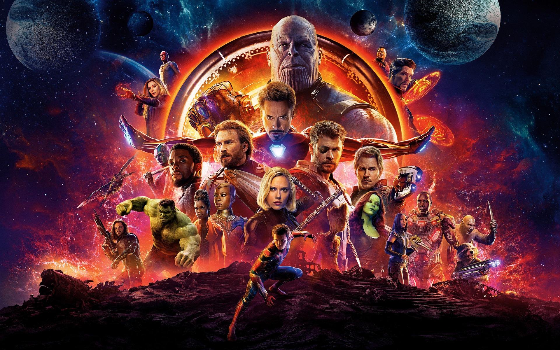 2018 avengers infinity war 4k film preview