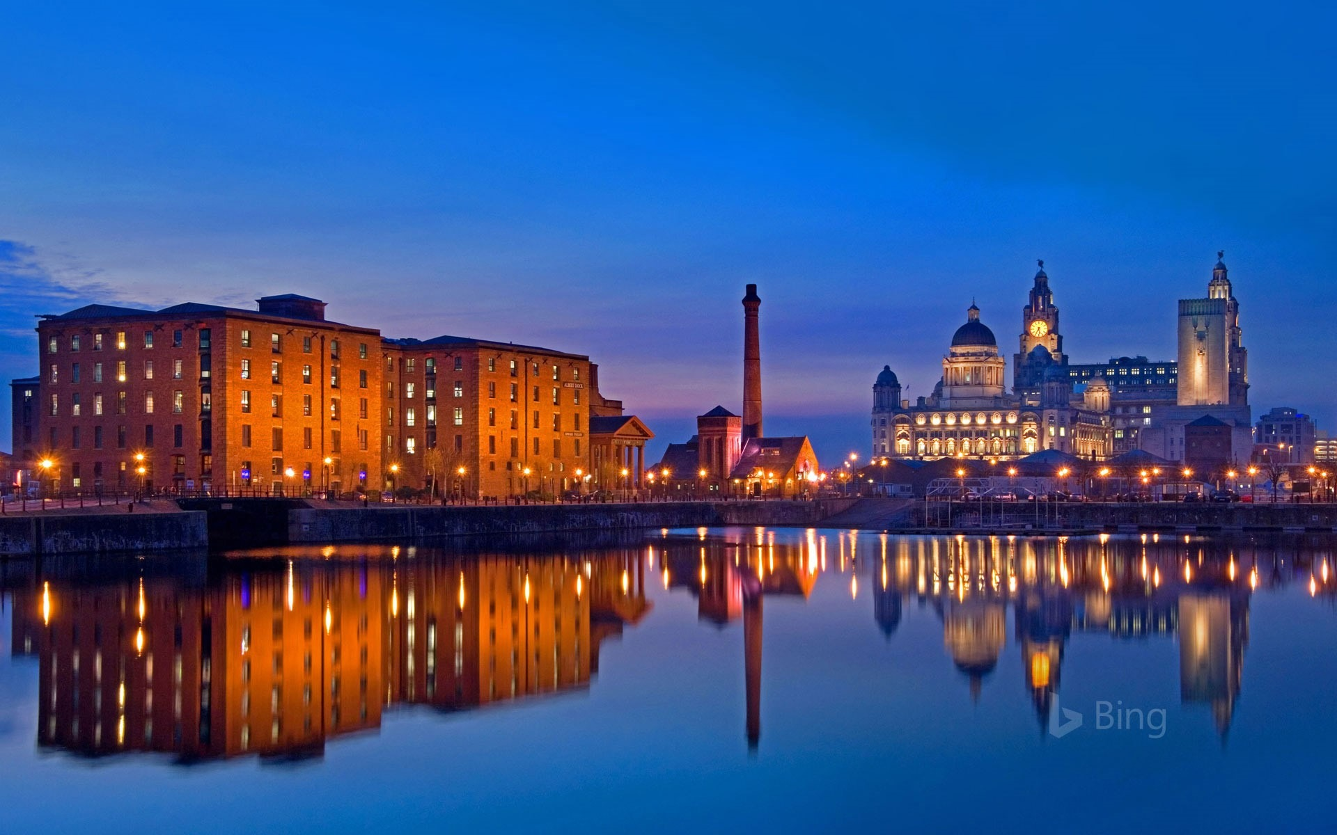 Liverpool Waterfront Merseyside 2018 Bing Preview