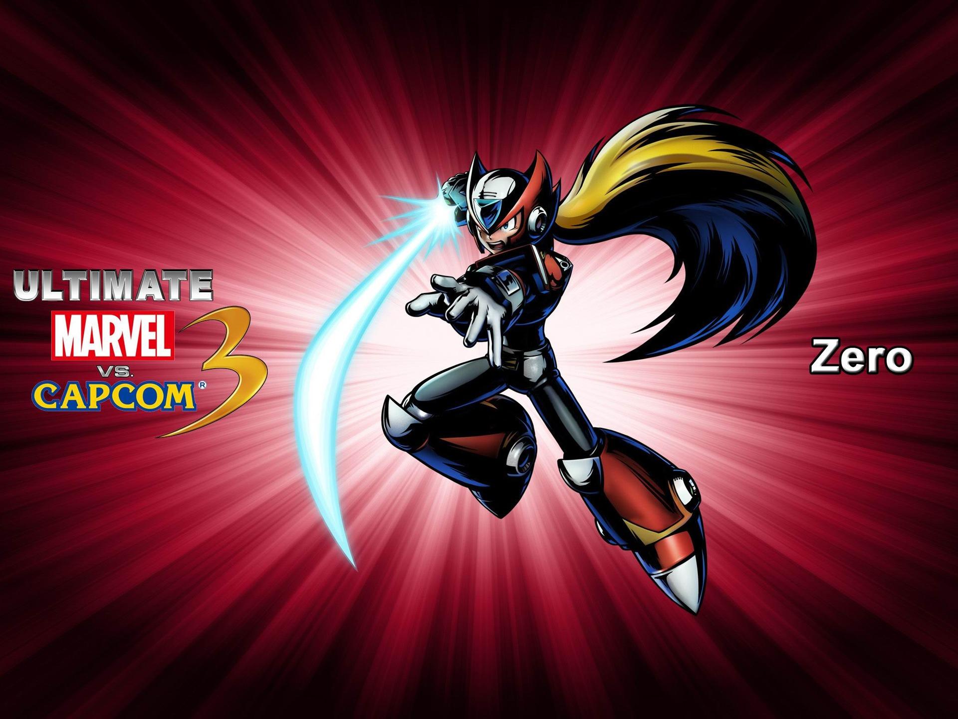 Zero Ultimate Marvel Vs Capcom 3 Game Wallpaper Preview