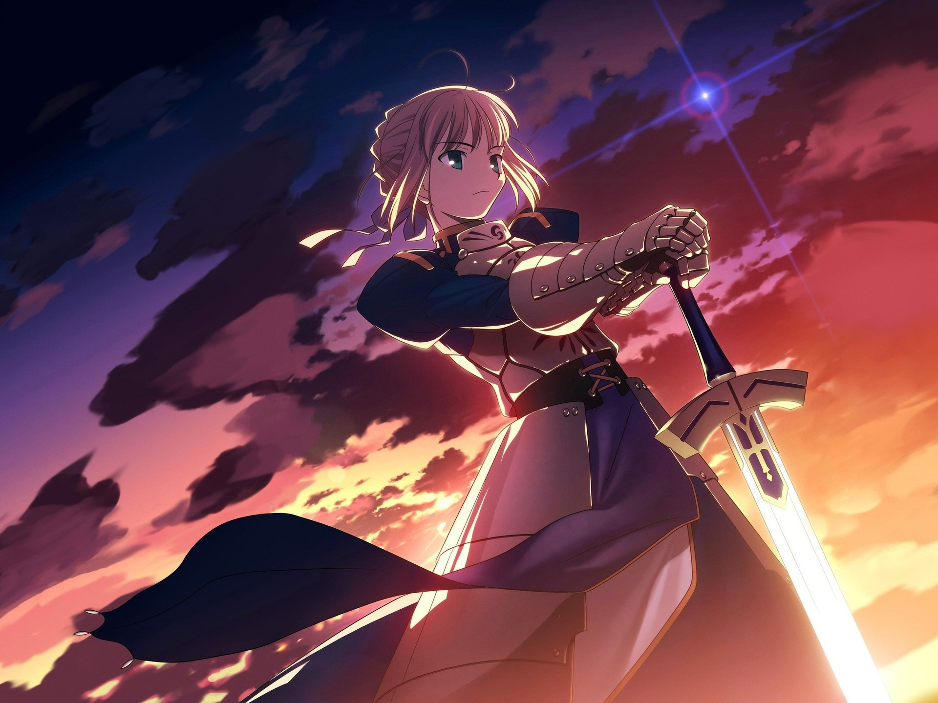 Fate Stay Night Saber Anime Hd Wallpaper Preview 10wallpaper Com