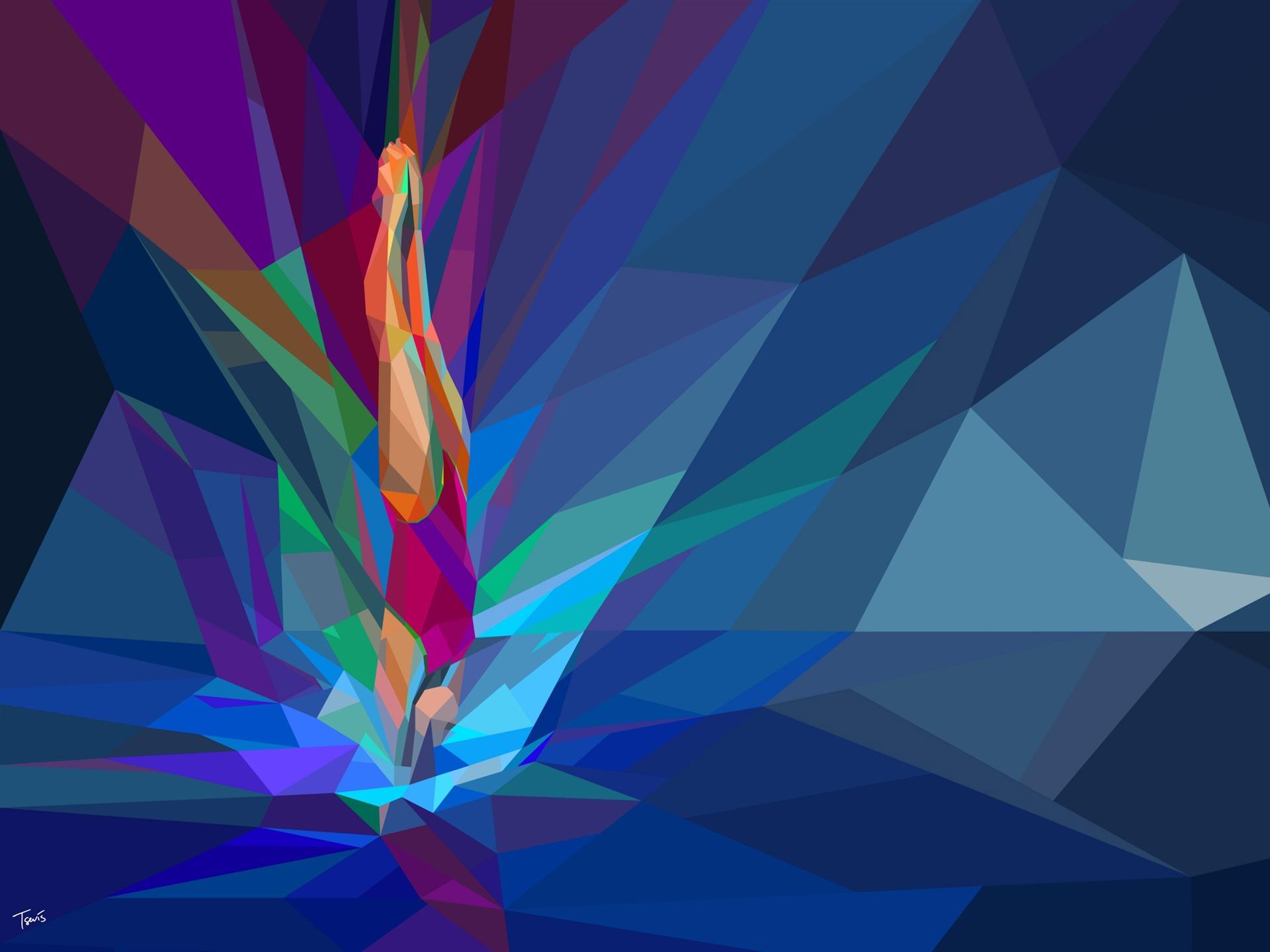 Rio 2016 Olympic Games Hd Vector Wallpaper 01 Avance
