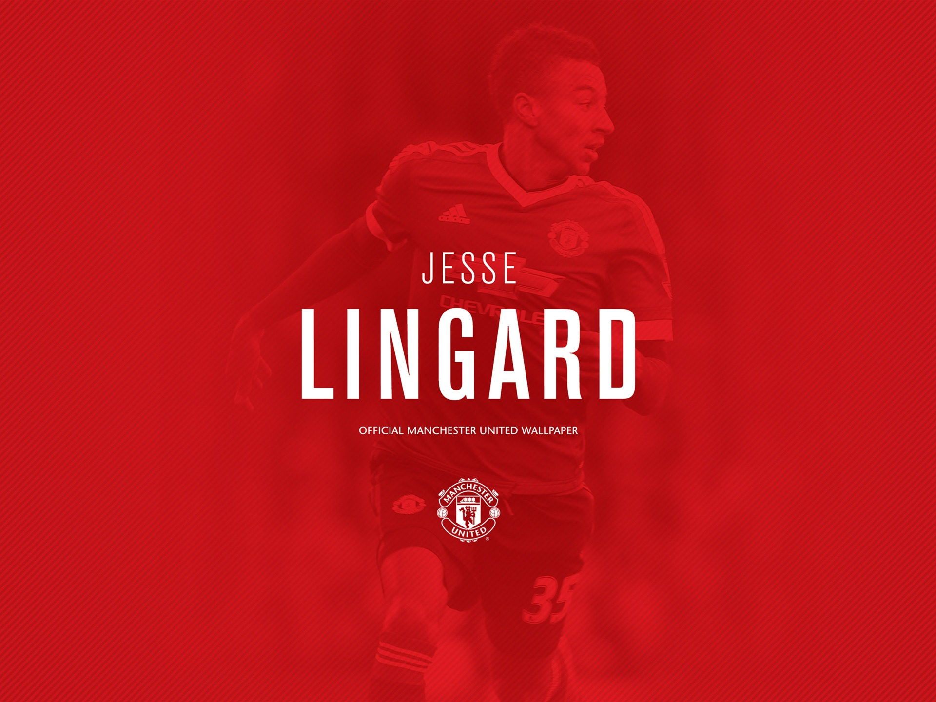 Jesse Lingard-2016 Manchester United HD Wallpaper Preview