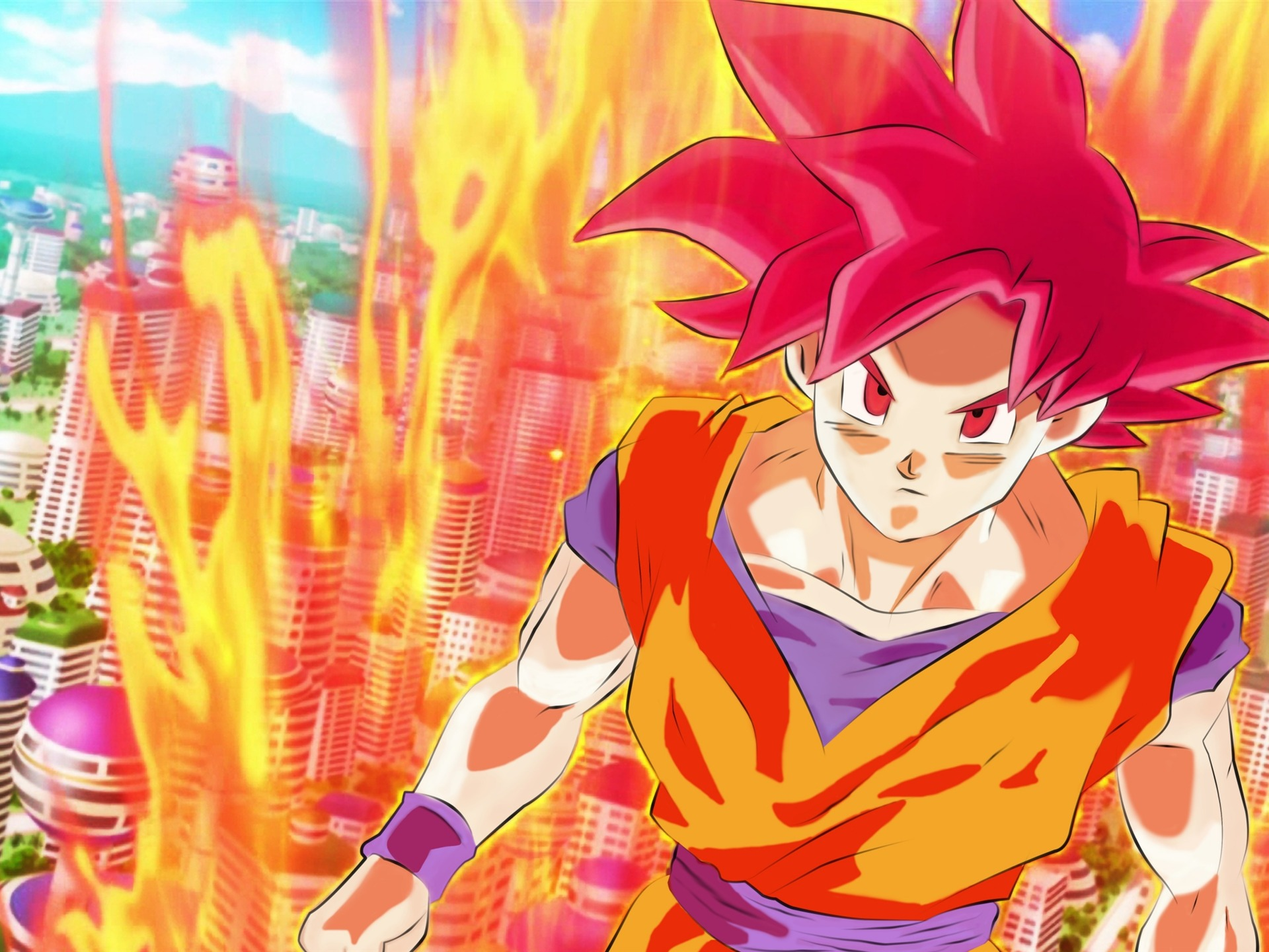 Dragon Ball Super Anime Design Hd Wallpaper 02 Avance