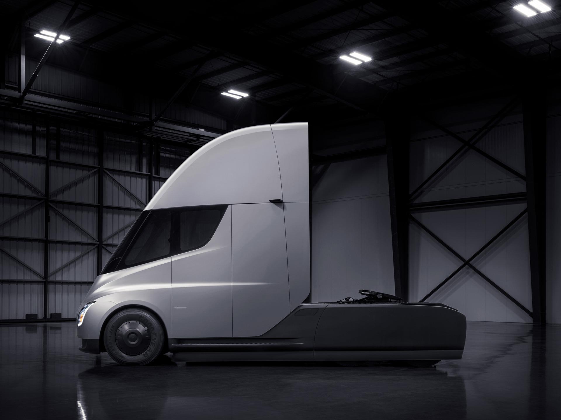 2018 tesla camion lectrique 4k hd aper u. Black Bedroom Furniture Sets. Home Design Ideas