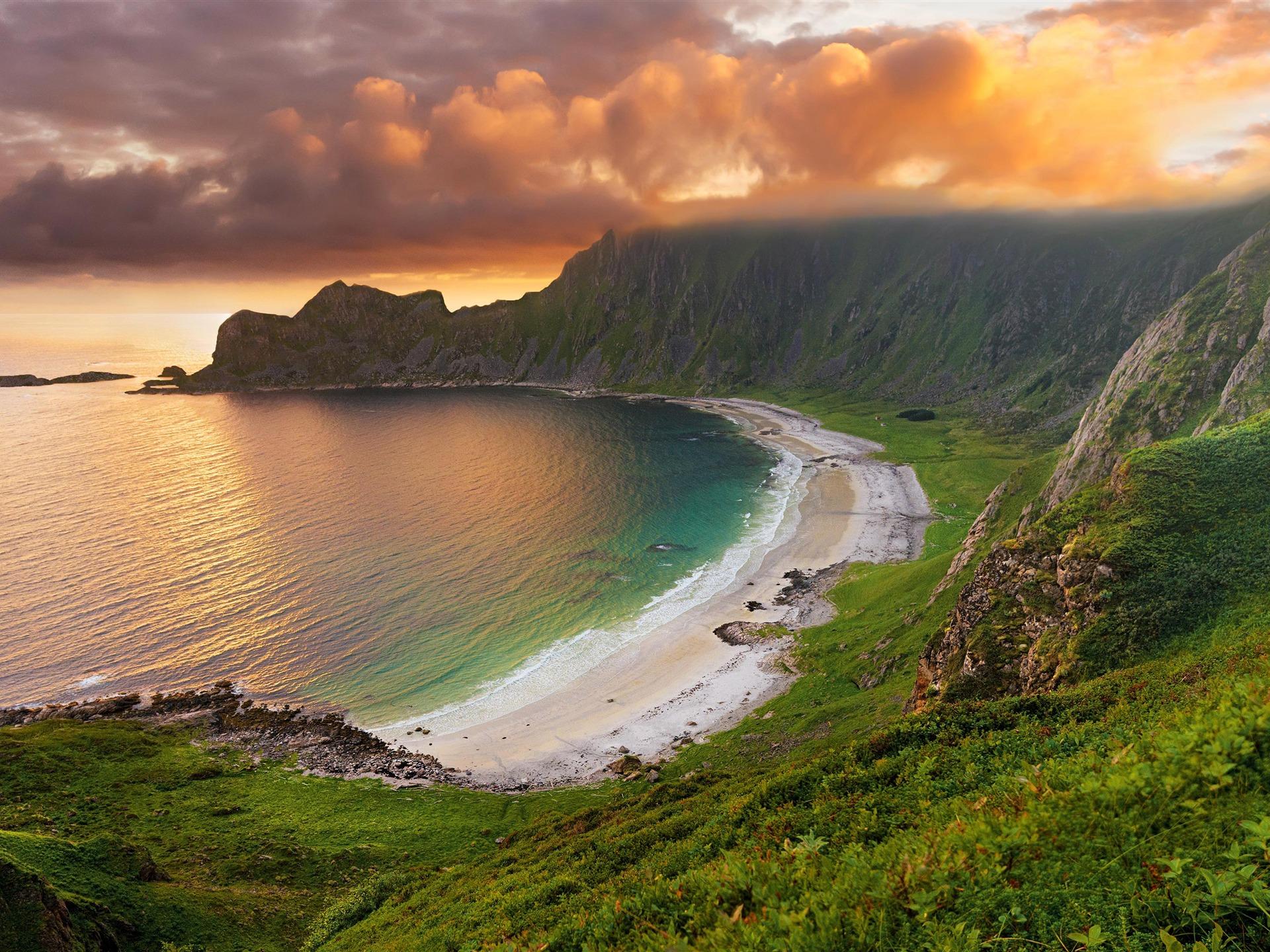 Retina Wallpaper Beach Sea Hd Desktop Wallpapers: Mer, Baie, Plage, Falaises, IMac, Retina, 4K, Ultra HD