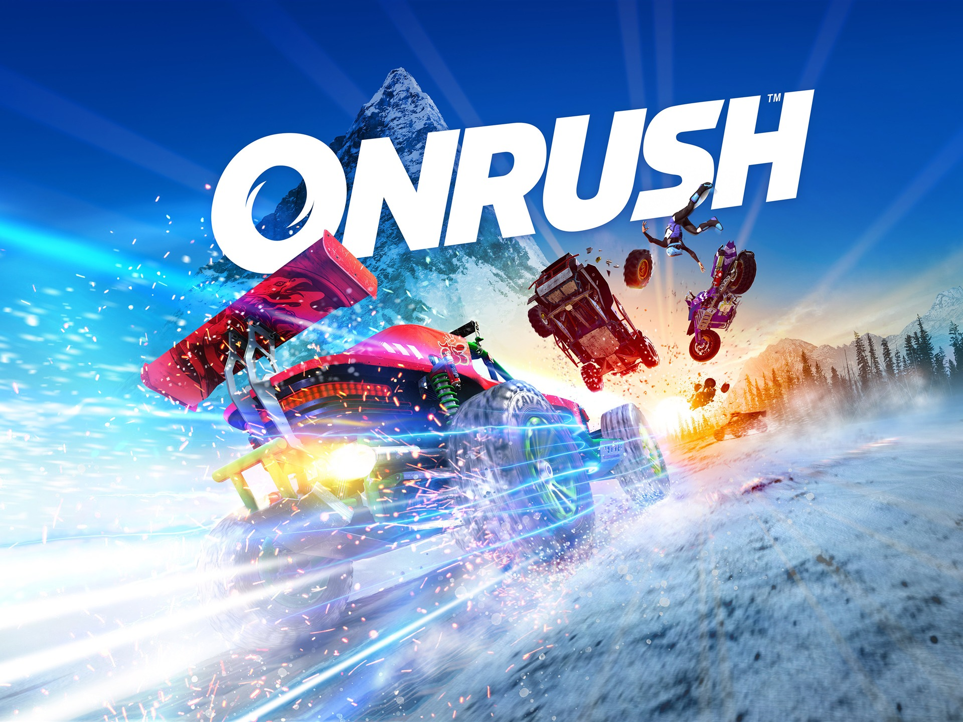 Onrush 2018 Video Game 4K HD Poster - 1920x1440 wallpaper download