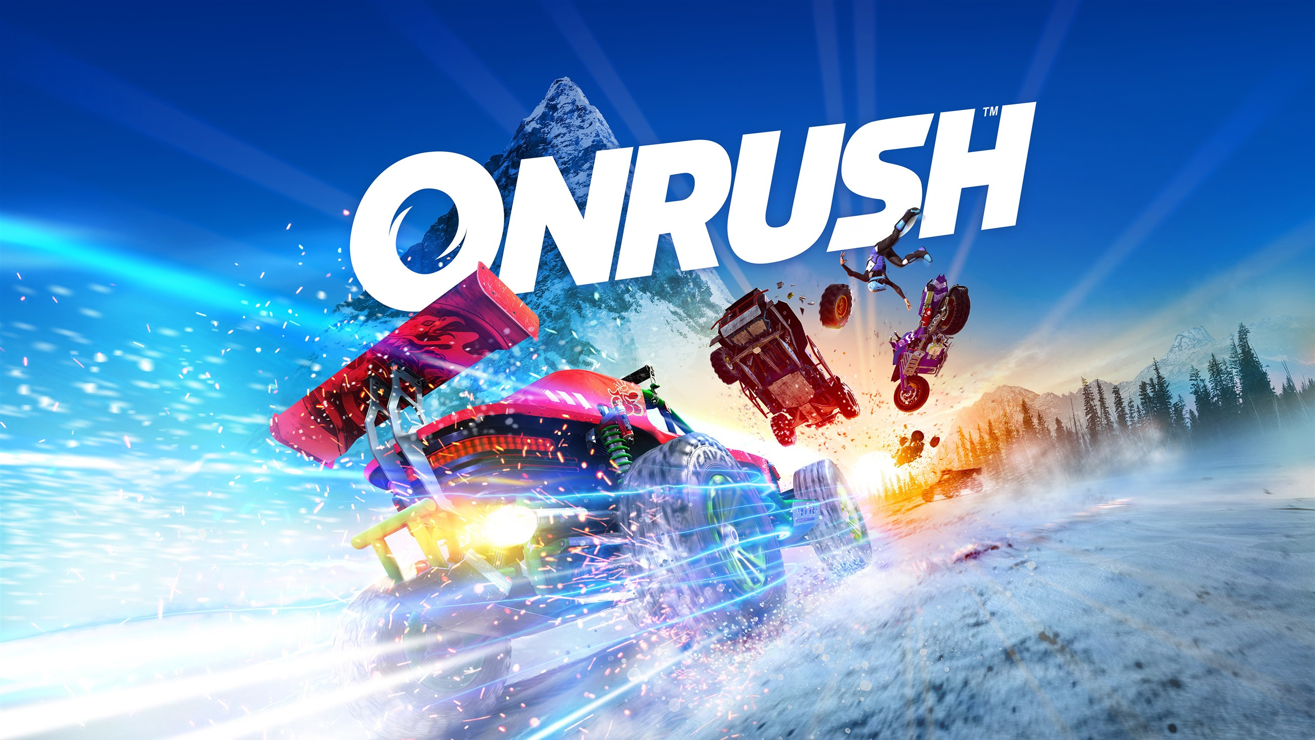 Onrush 2018 Video Game 4K HD Poster - 2560x1440 wallpaper download
