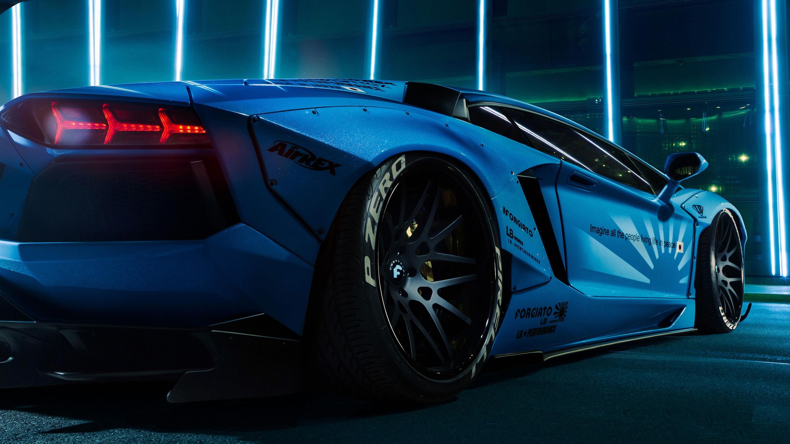 2018 Lamborghini Aventador Performance Affiche Aper 231 U