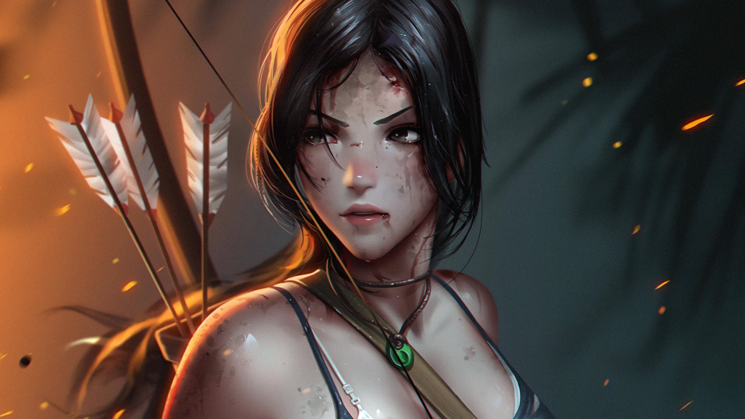 Lara Croft Tomb Raider 2019 Anime Character Preview 10wallpaper Com