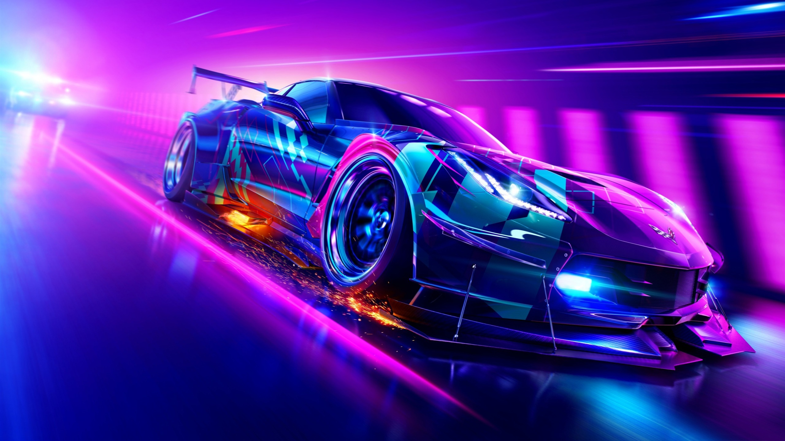 Need for Speed, Heat video, 2019, Game, HD, Poster Avance