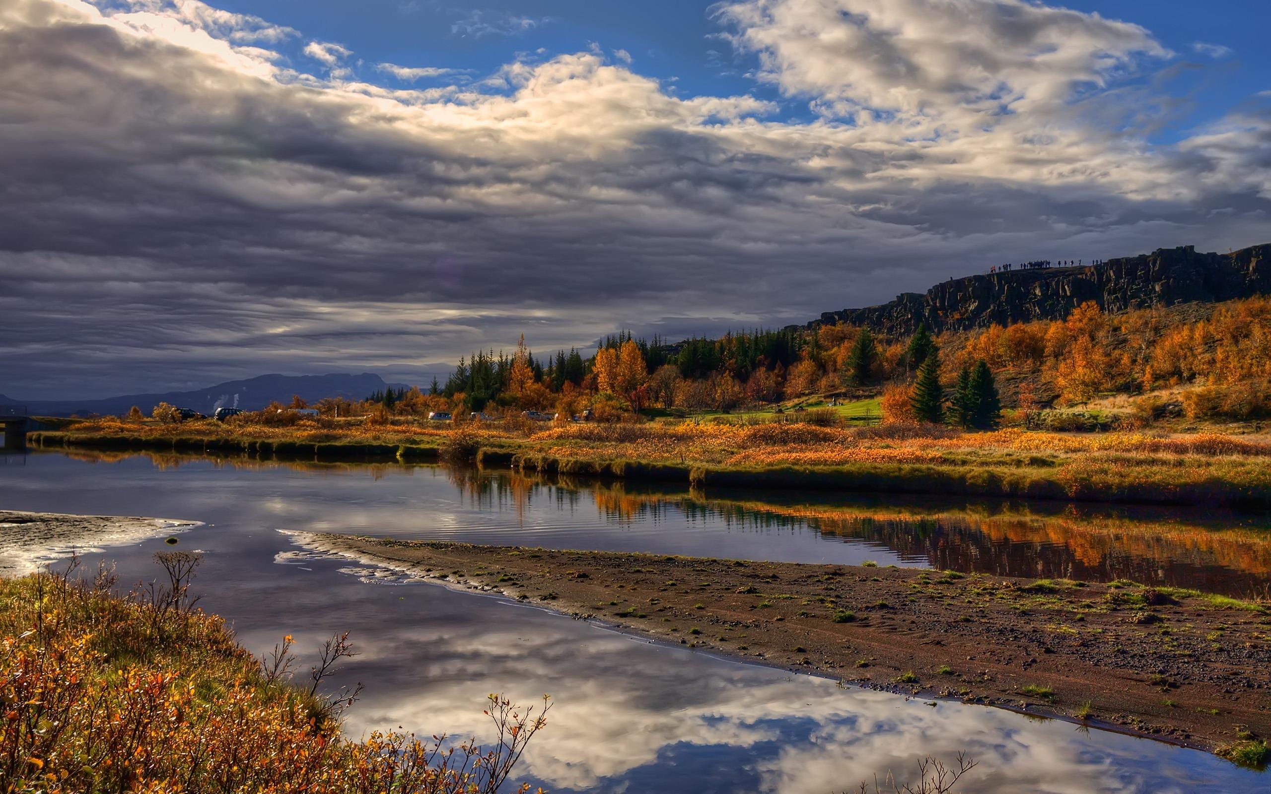 Autumn Countryside Landscape Autumn Landscape Wallpaper