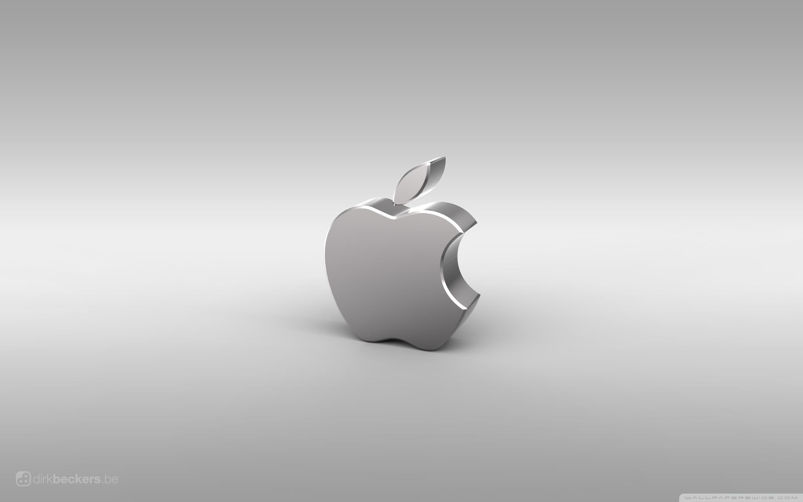 銀色のappleのロゴ 別のapple Macデスクトップの壁紙を考えるプレビュー 10wallpaper Com