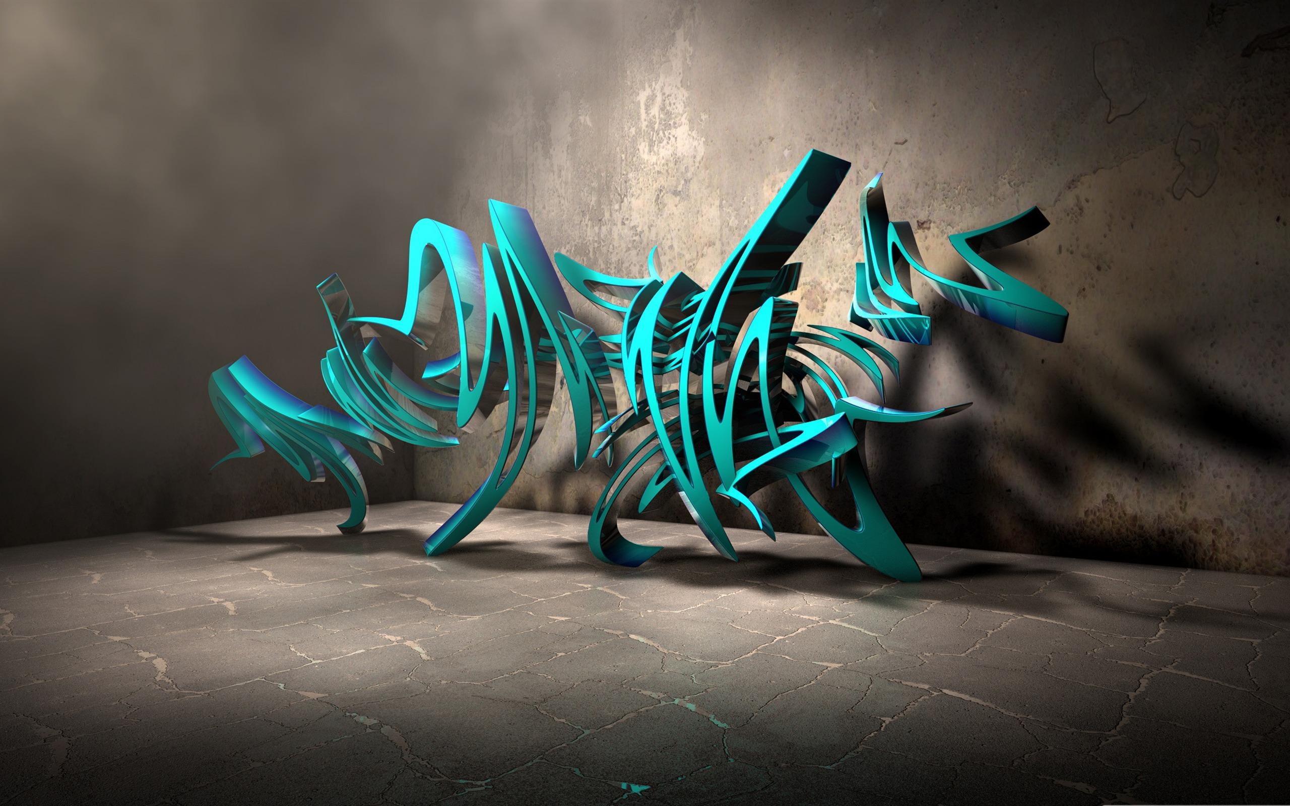 3d graffiti background-Personalized Graffiti Art desktop ...