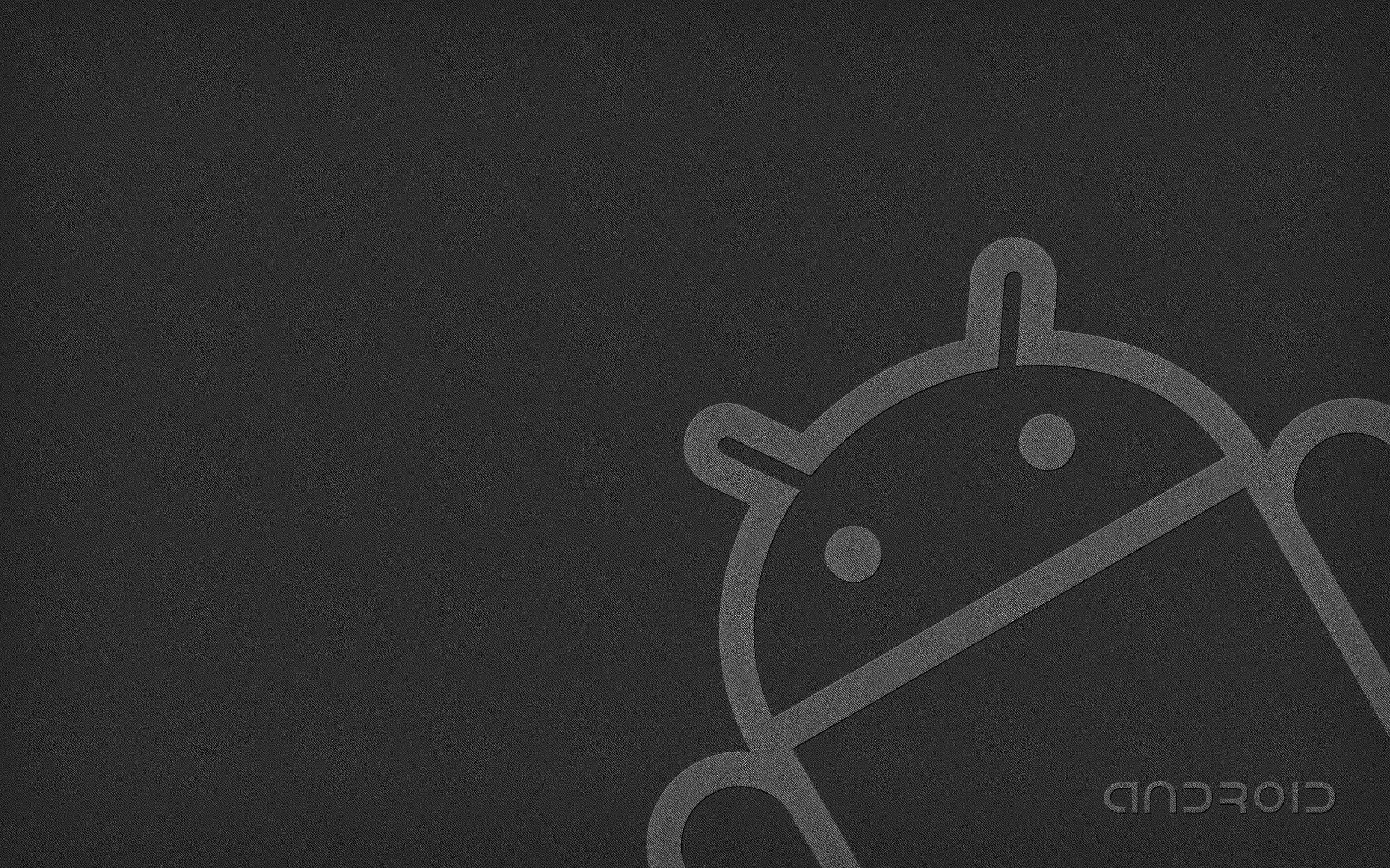 黒背景 アンドロイドロゴロボットデスクトップ壁紙プレビュー 10wallpaper Com
