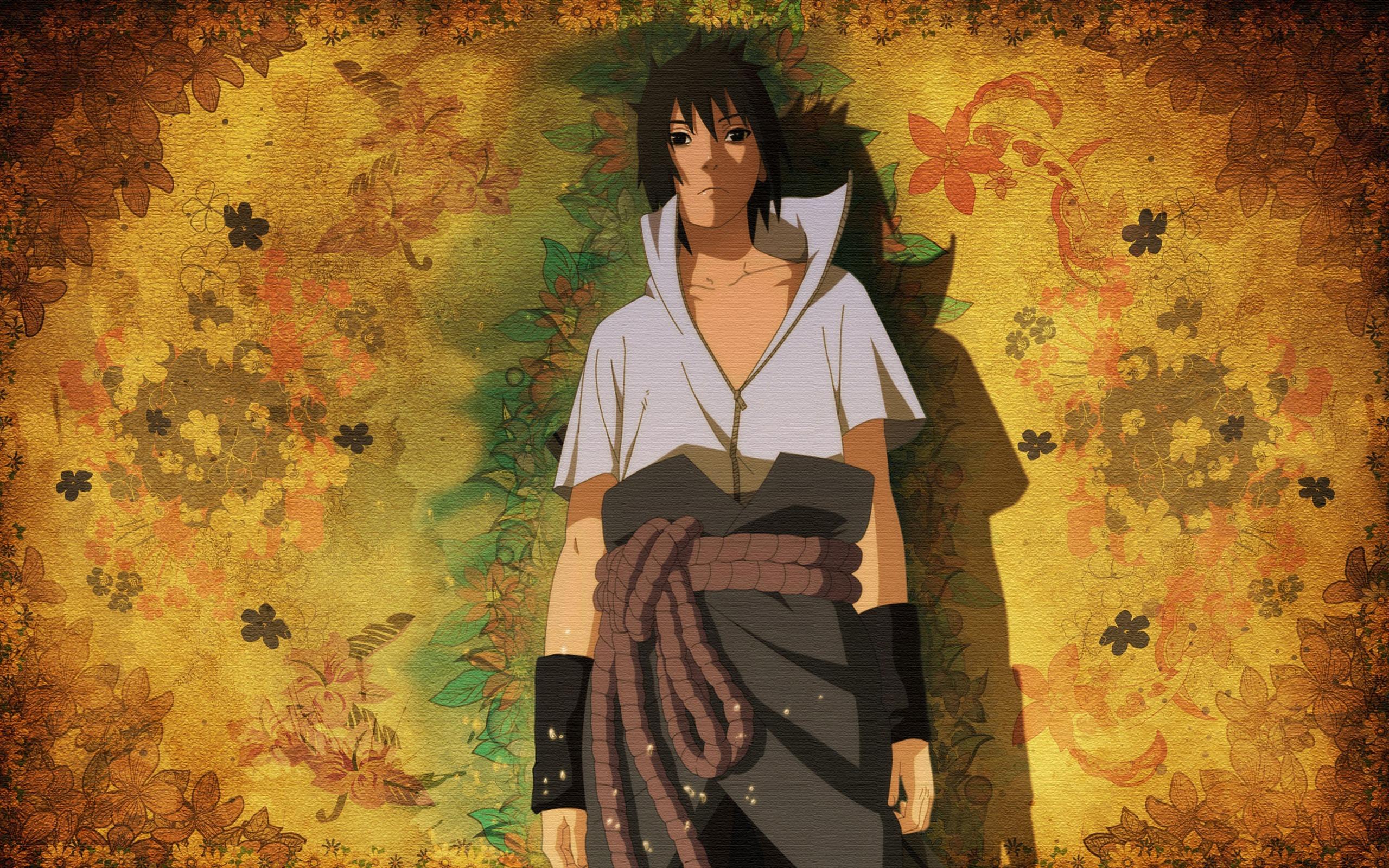 Personajes De Naruto Sasuke Uchiha Cartoon Hd Fondo De