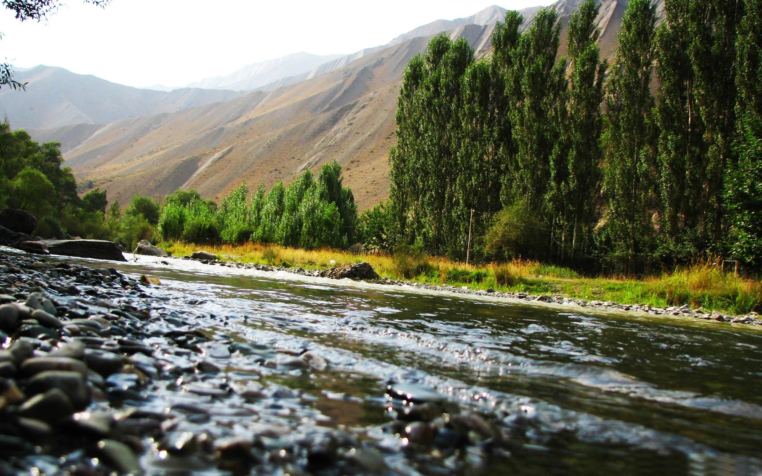 ... -Beautiful river landscape photography - 2560x1600 wallpaper download: www.10wallpaper.com/down/Chaloos_iran_mr-Beautiful_river_landscape...