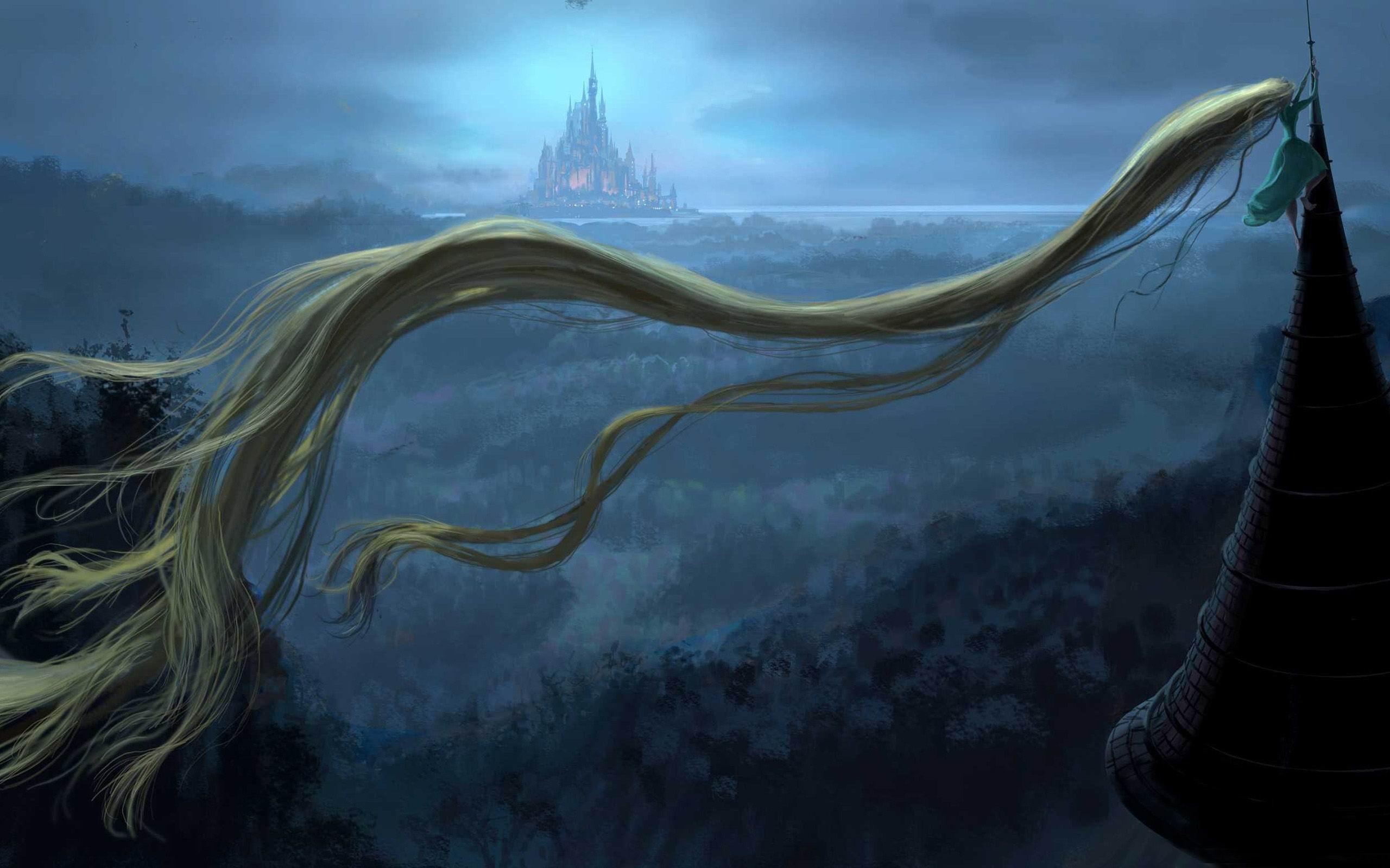 Rapunzel tower world of fantasy art design hd wallpaper preview - Tangled tower wallpaper ...